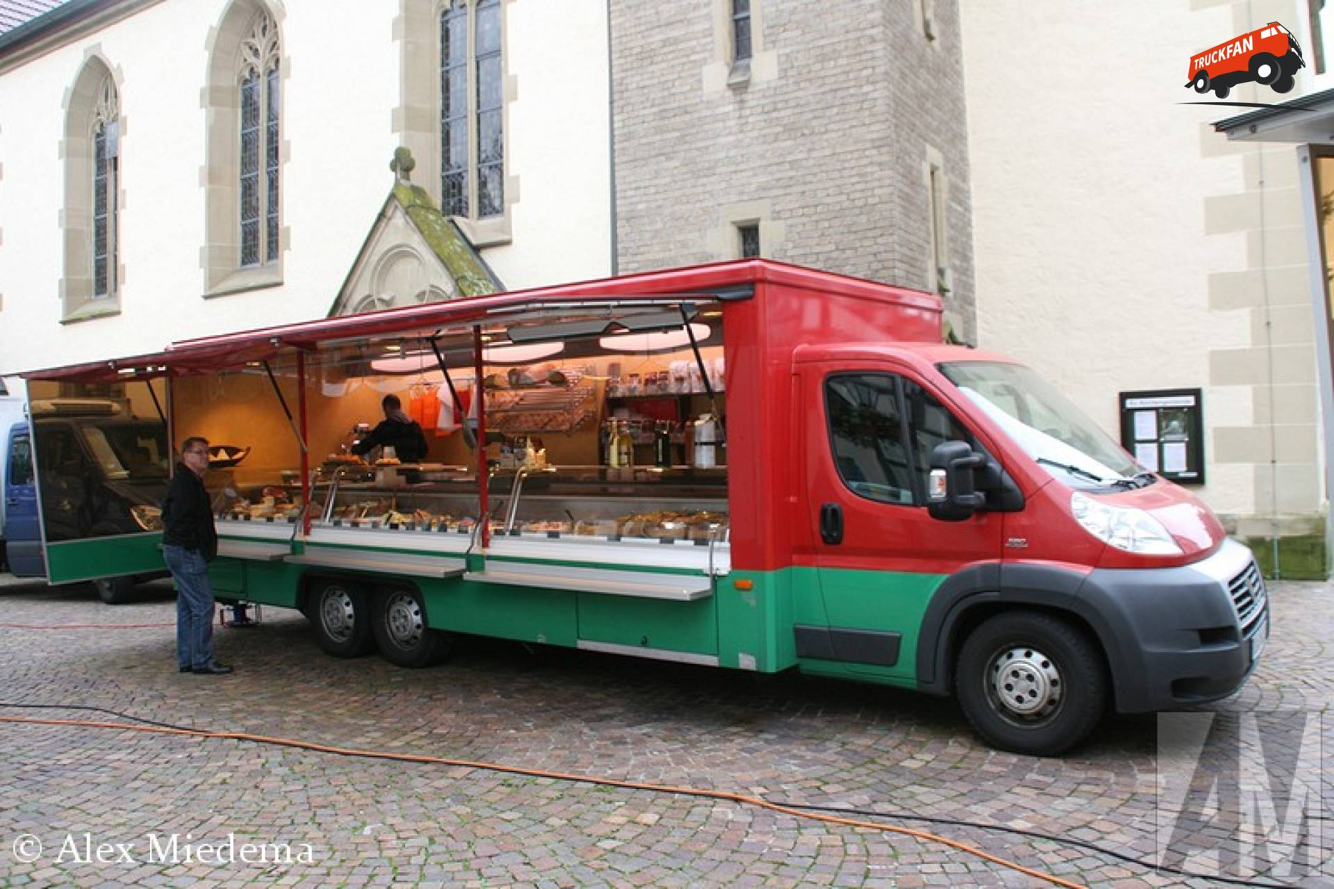 Borco-Höhns verkoopwagen
