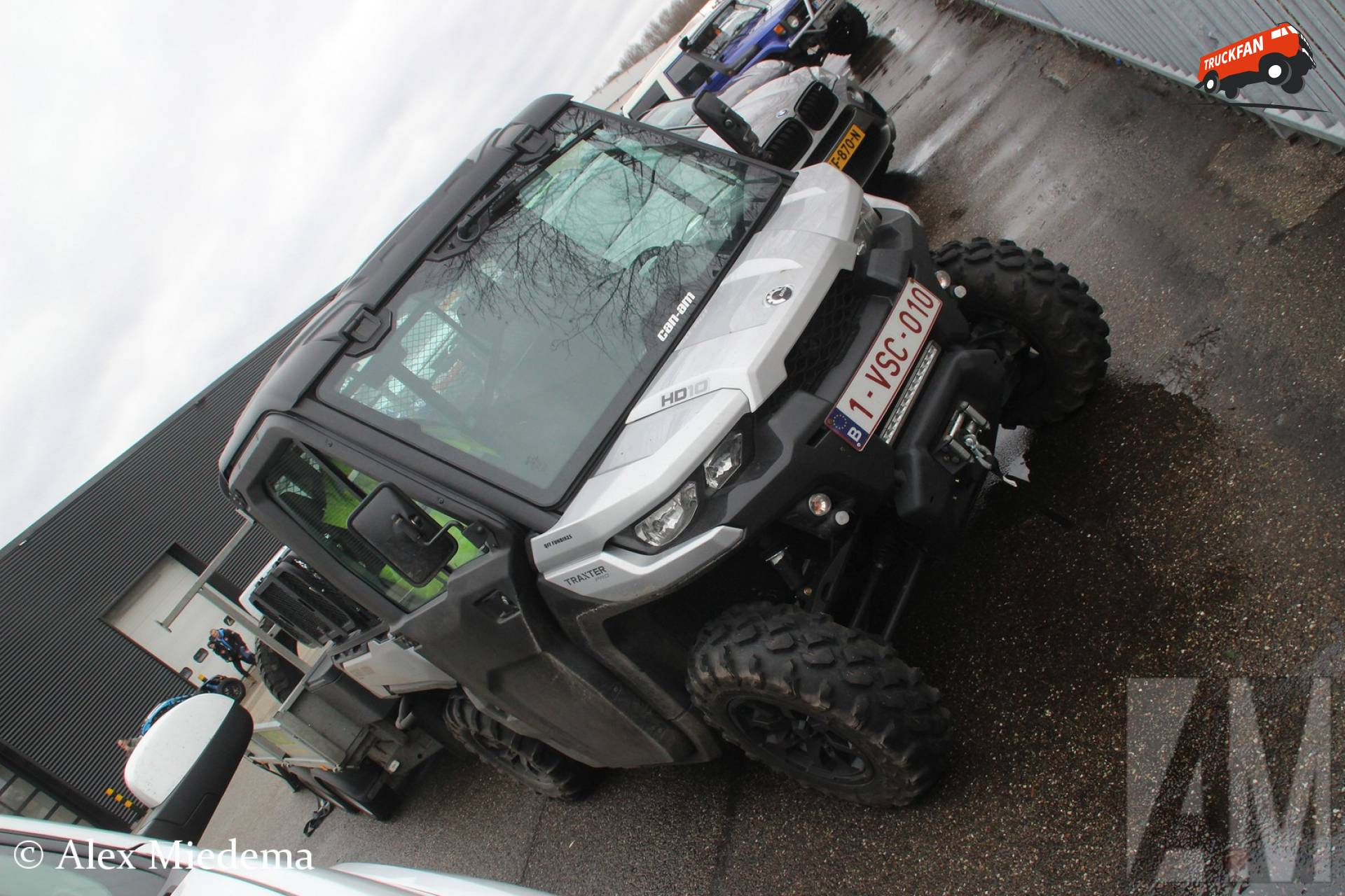 Can-Am Traxter Pro