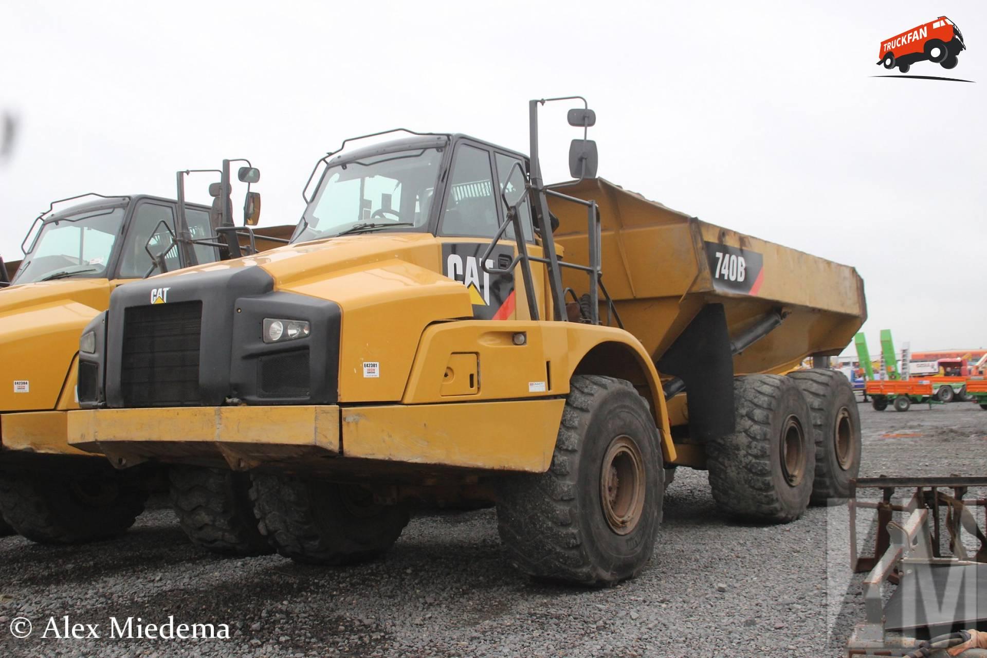 Cat 740B