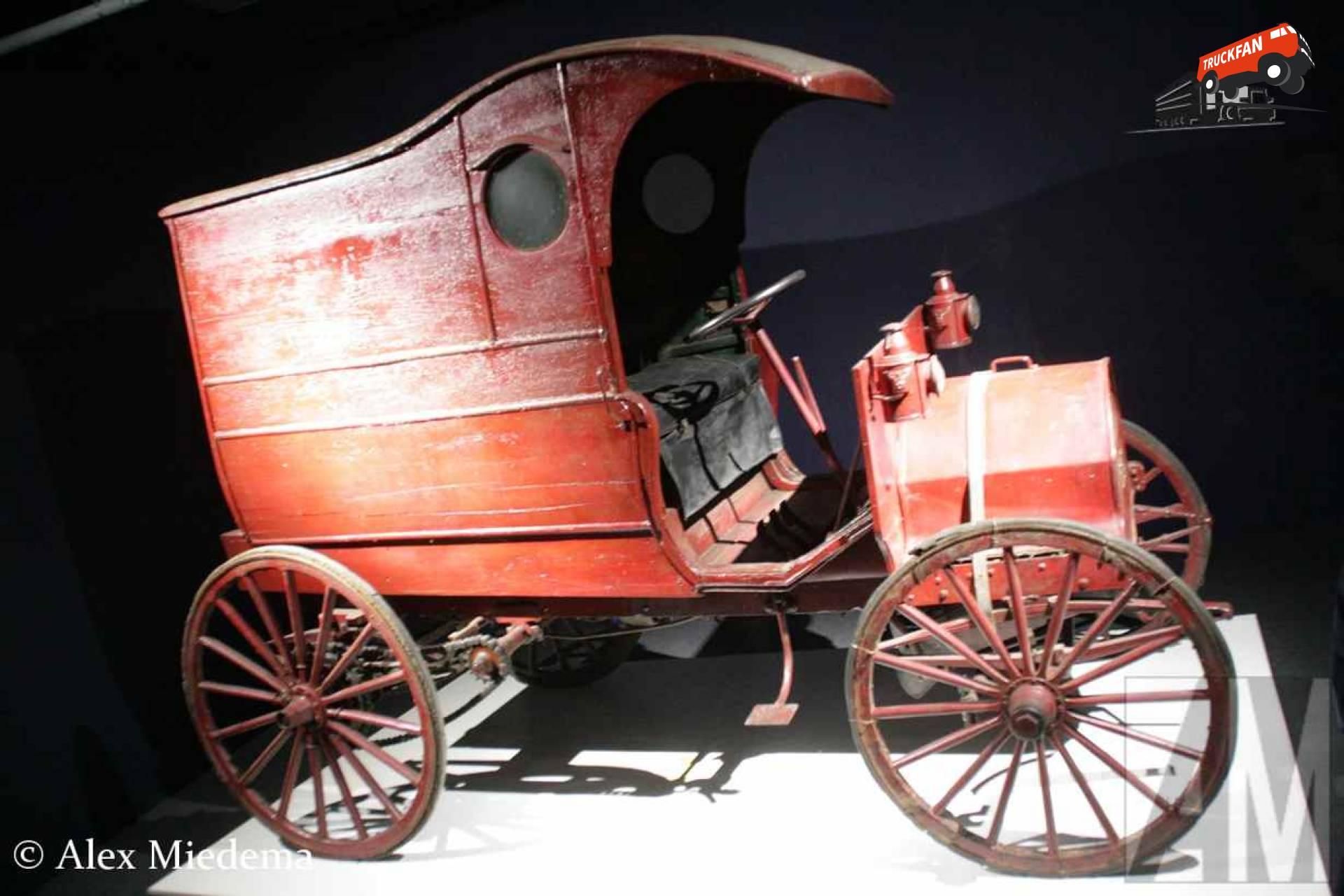 Chase Highwheeler Delivery Van