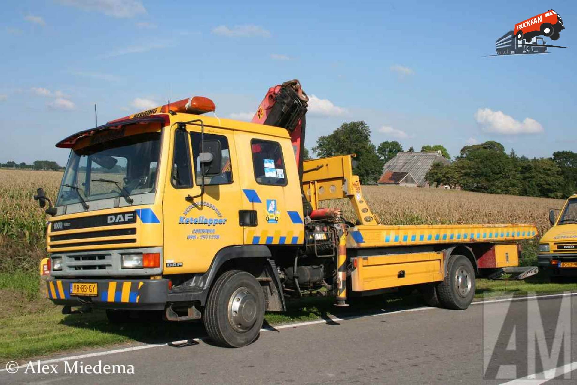Foto daf 1000 van garage en bergingsbedrijf ketellapper for Garage daf tours