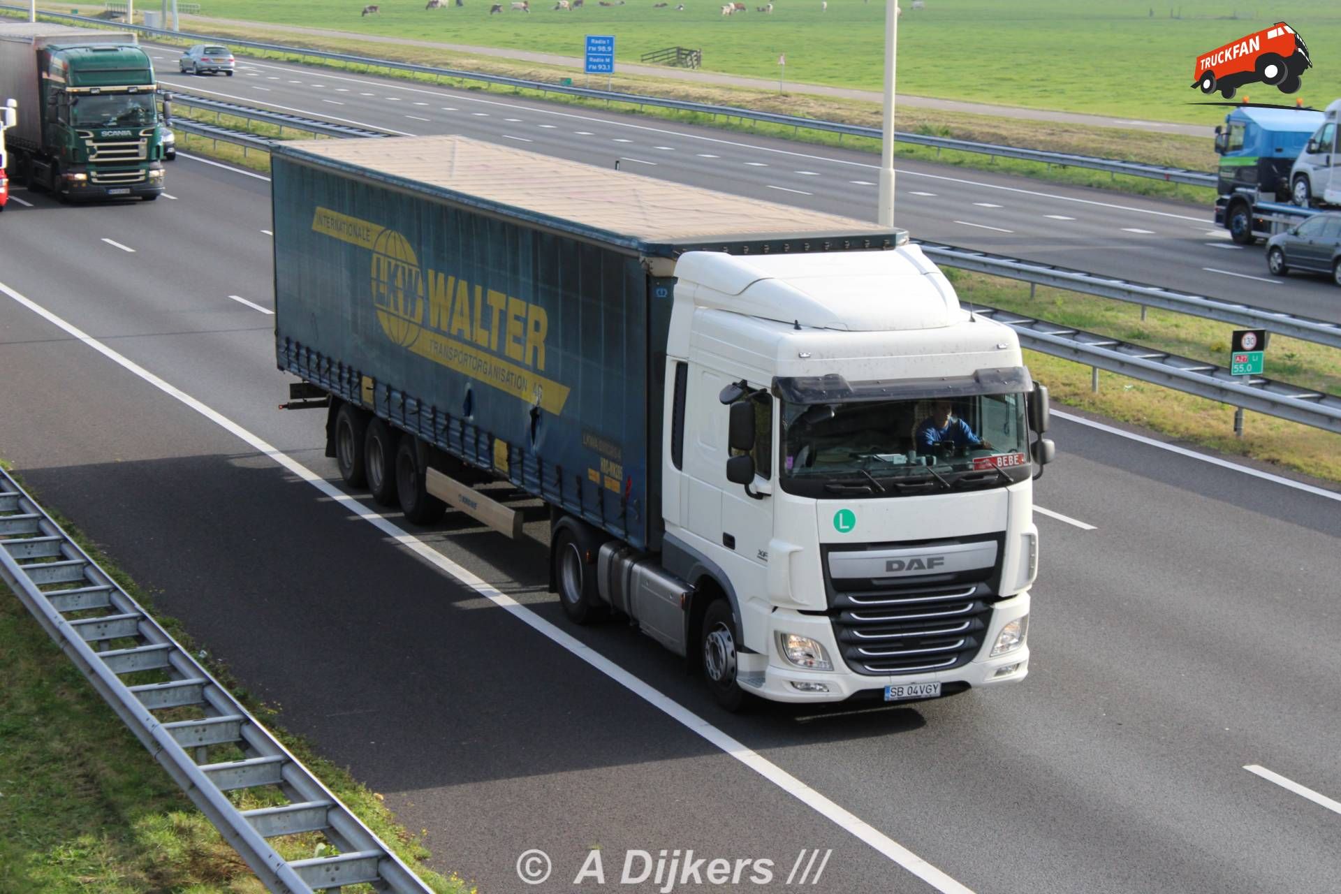 foto daf xf euro 6 van lkw walter internationale. Black Bedroom Furniture Sets. Home Design Ideas