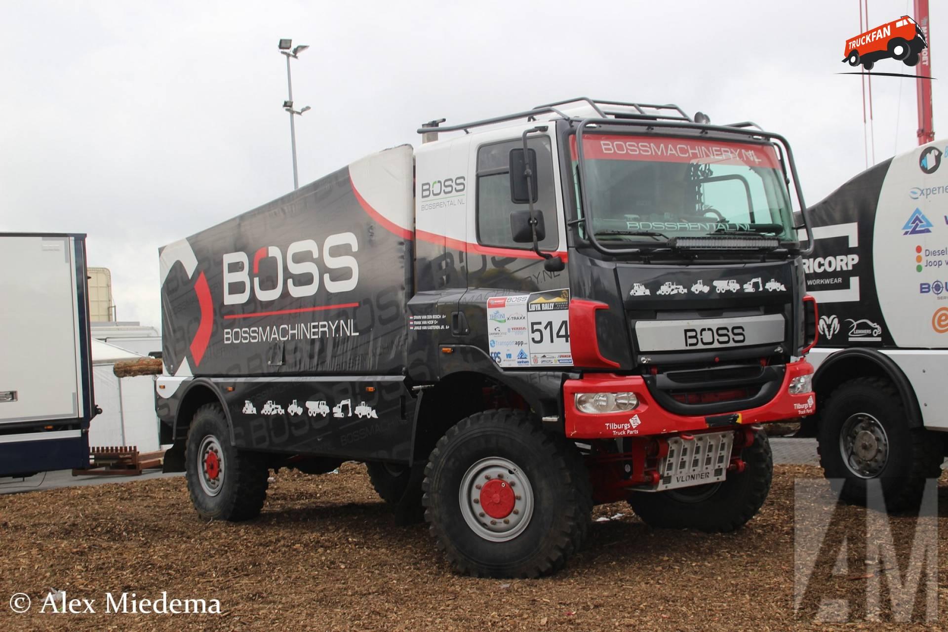 Team Boss Machinery B.V. - DAF CF Euro 6