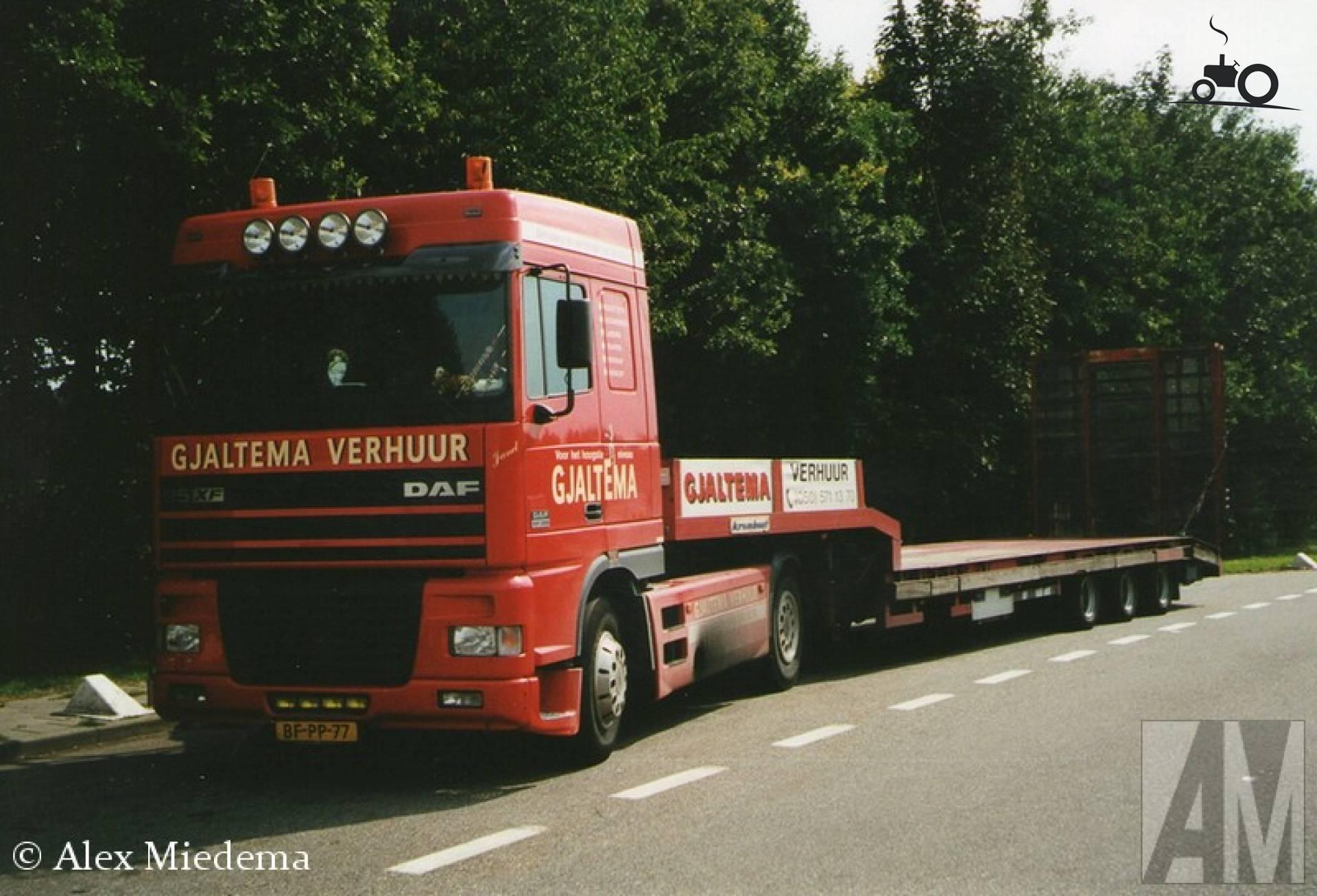Foto DAF 95XF van Gjaltema Verhuur