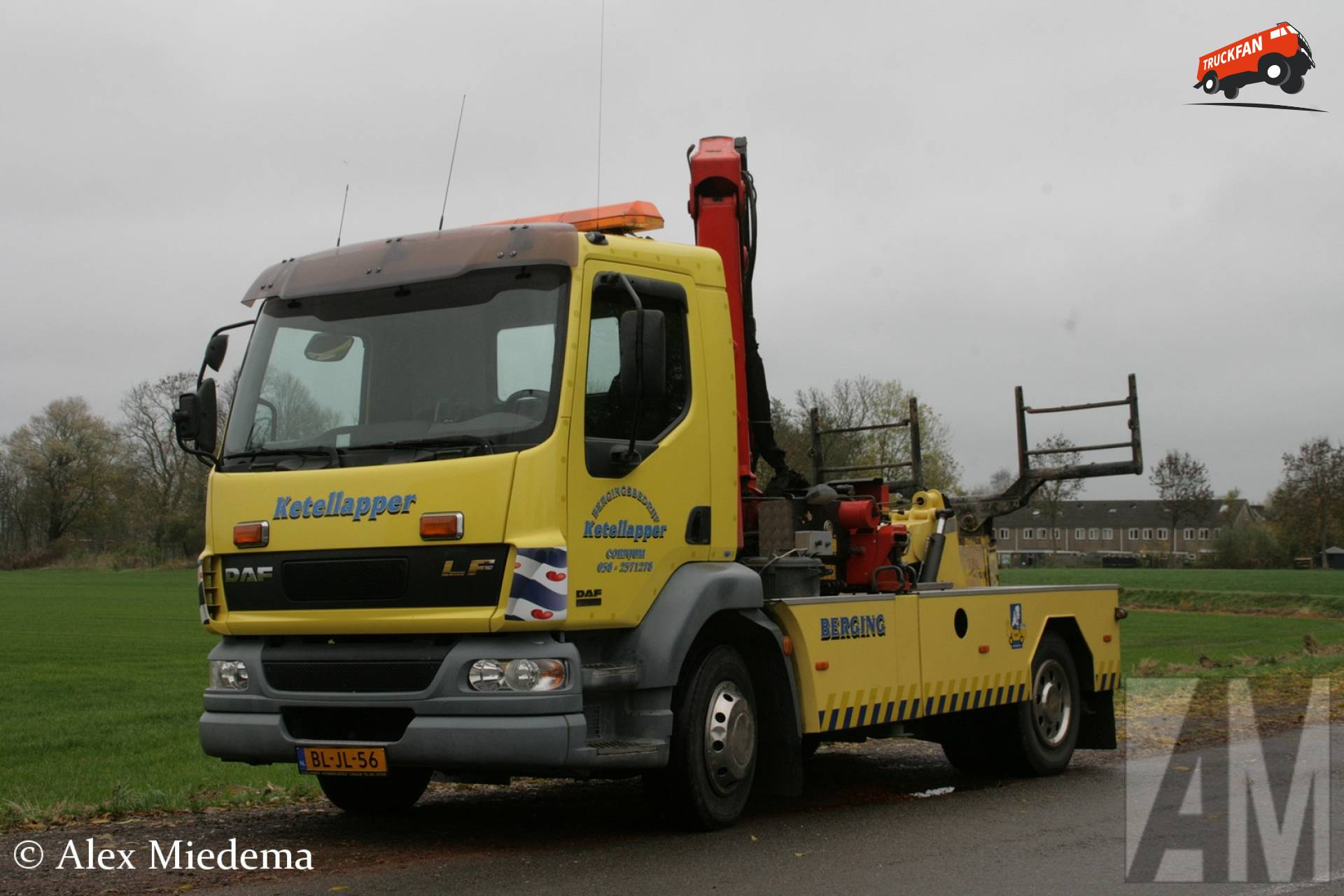 Foto daf lf55 van garage en bergingsbedrijf ketellapper for Garage daf tours