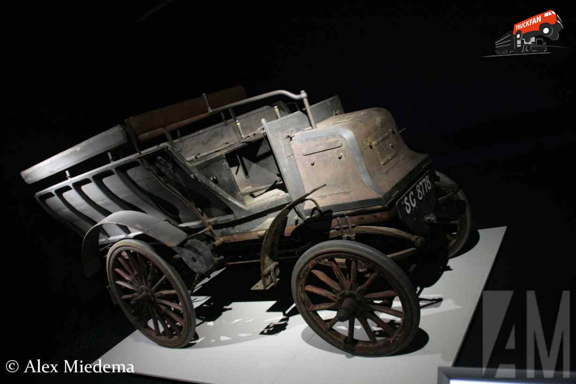 Daimler UK 6-HP Twin-Cilinder Six-Seat Brake