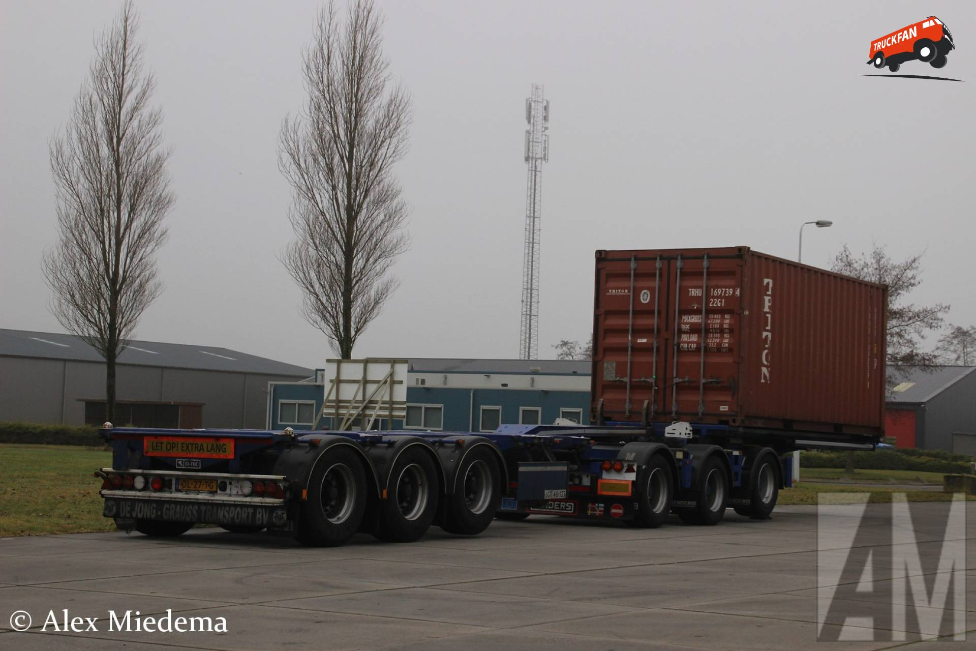 D-TEC containerchassis