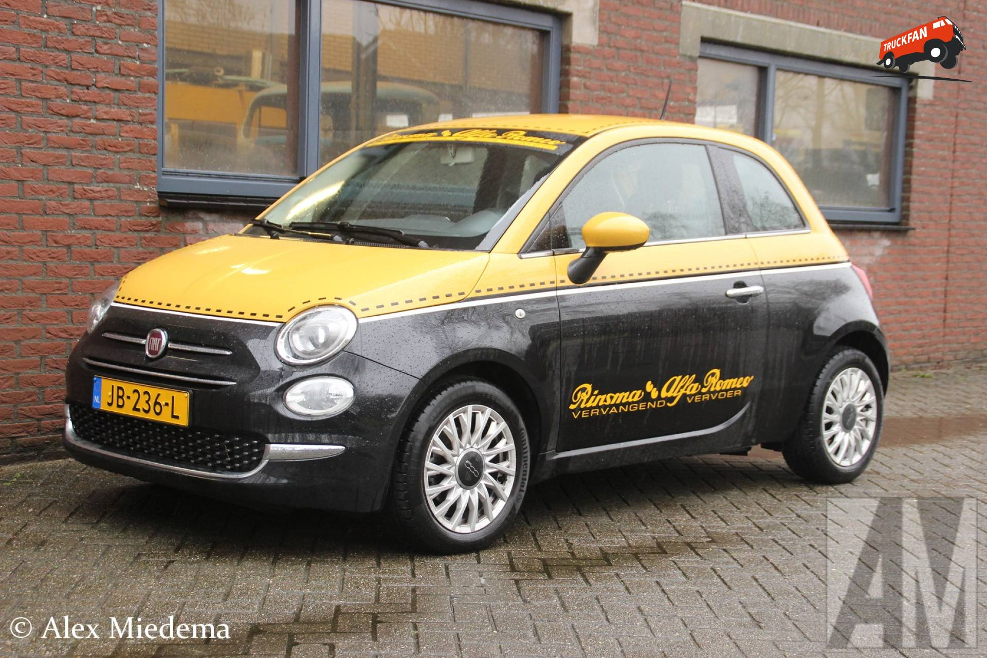 Foto fiat 500 van garage rinsma for Garage fiat 500