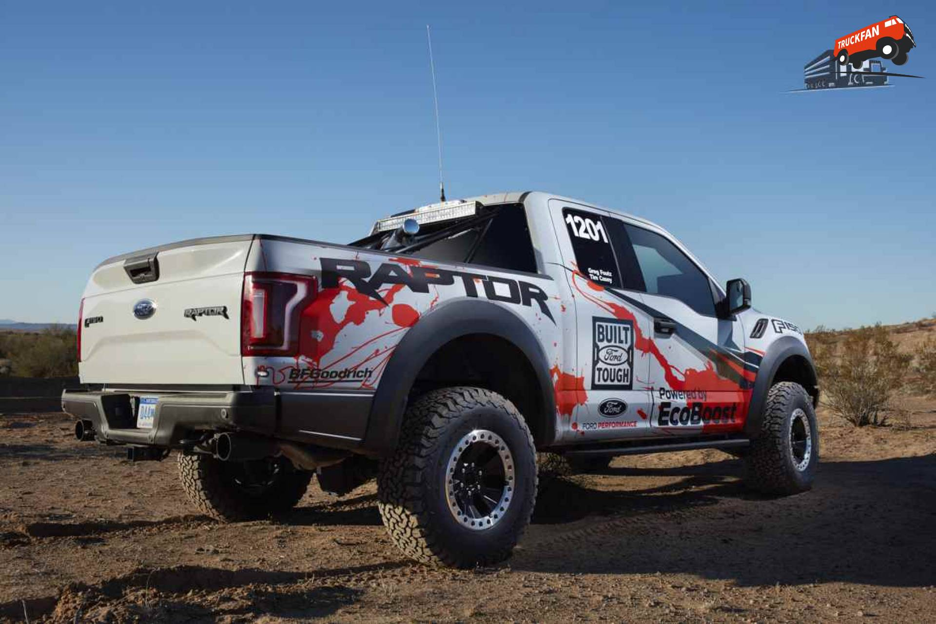 New Best In The Desert 2017 Ford F150 Raptor  Alex Miedema