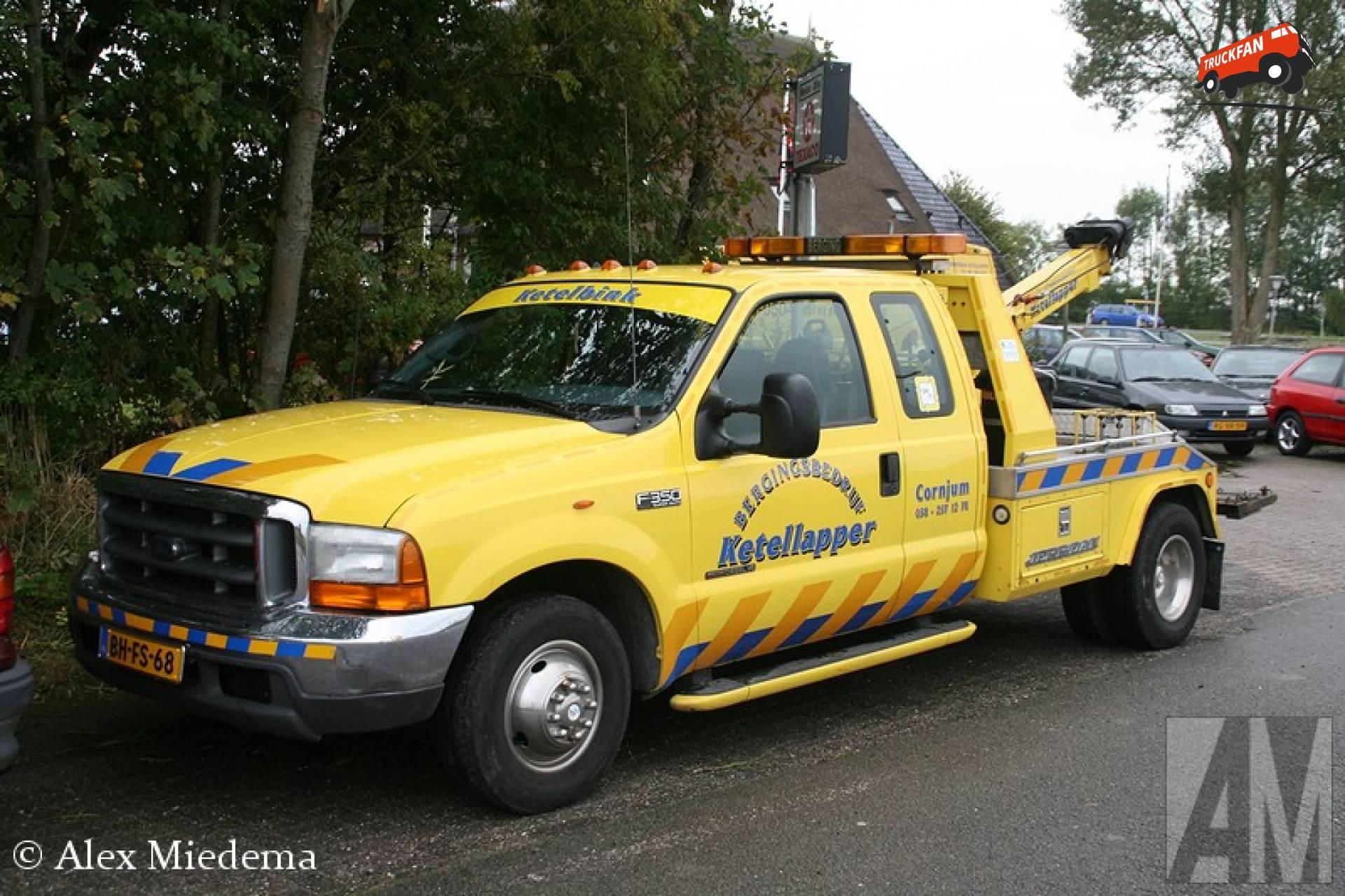 Foto ford f350 van garage en bergingsbedrijf ketellapper for Garage ford montrevel en bresse