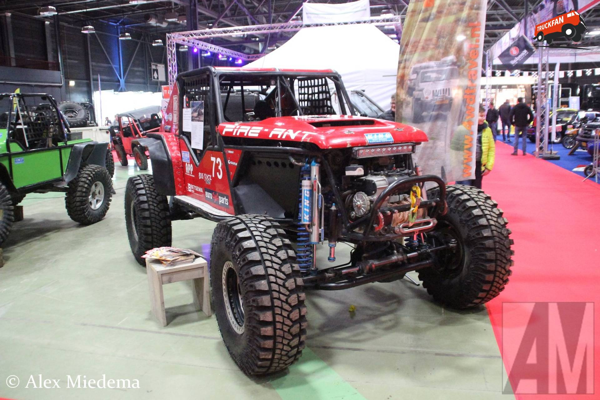 Fire Ant 4x4