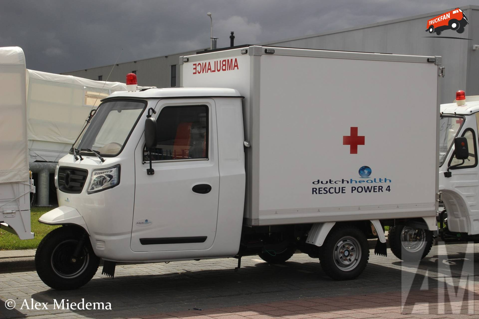 Dutch Health ambulance