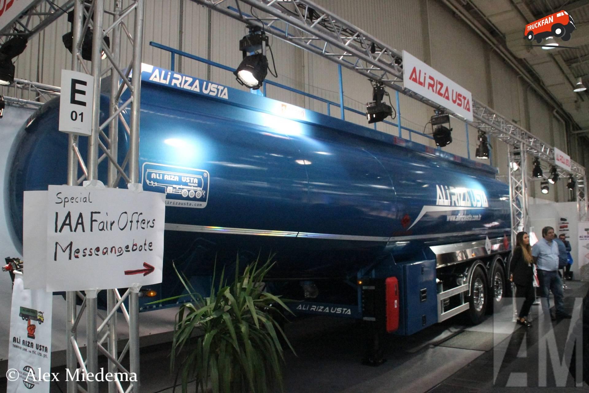 Ali Riza Usta tanktrailer