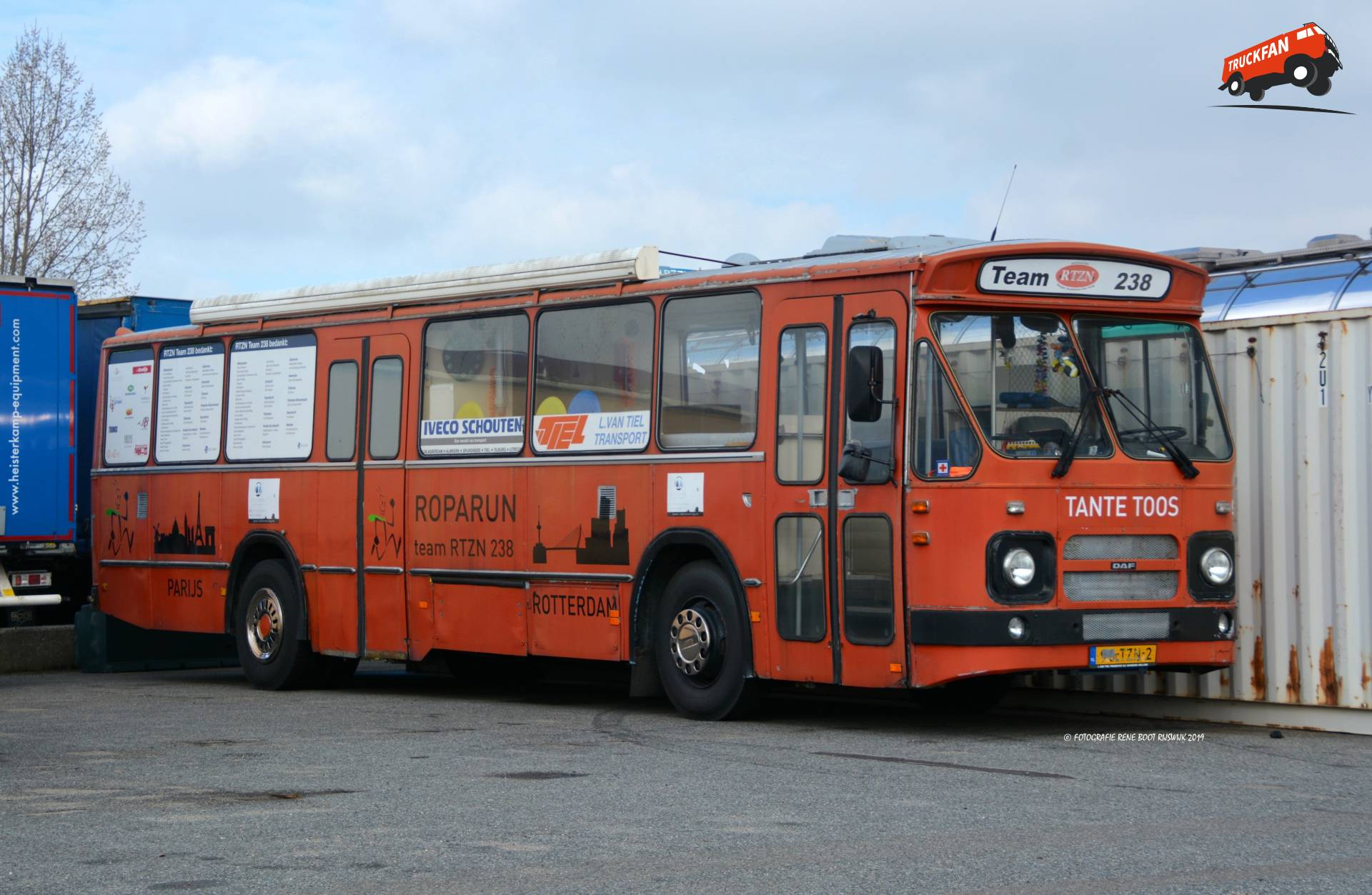 DAF buschassis