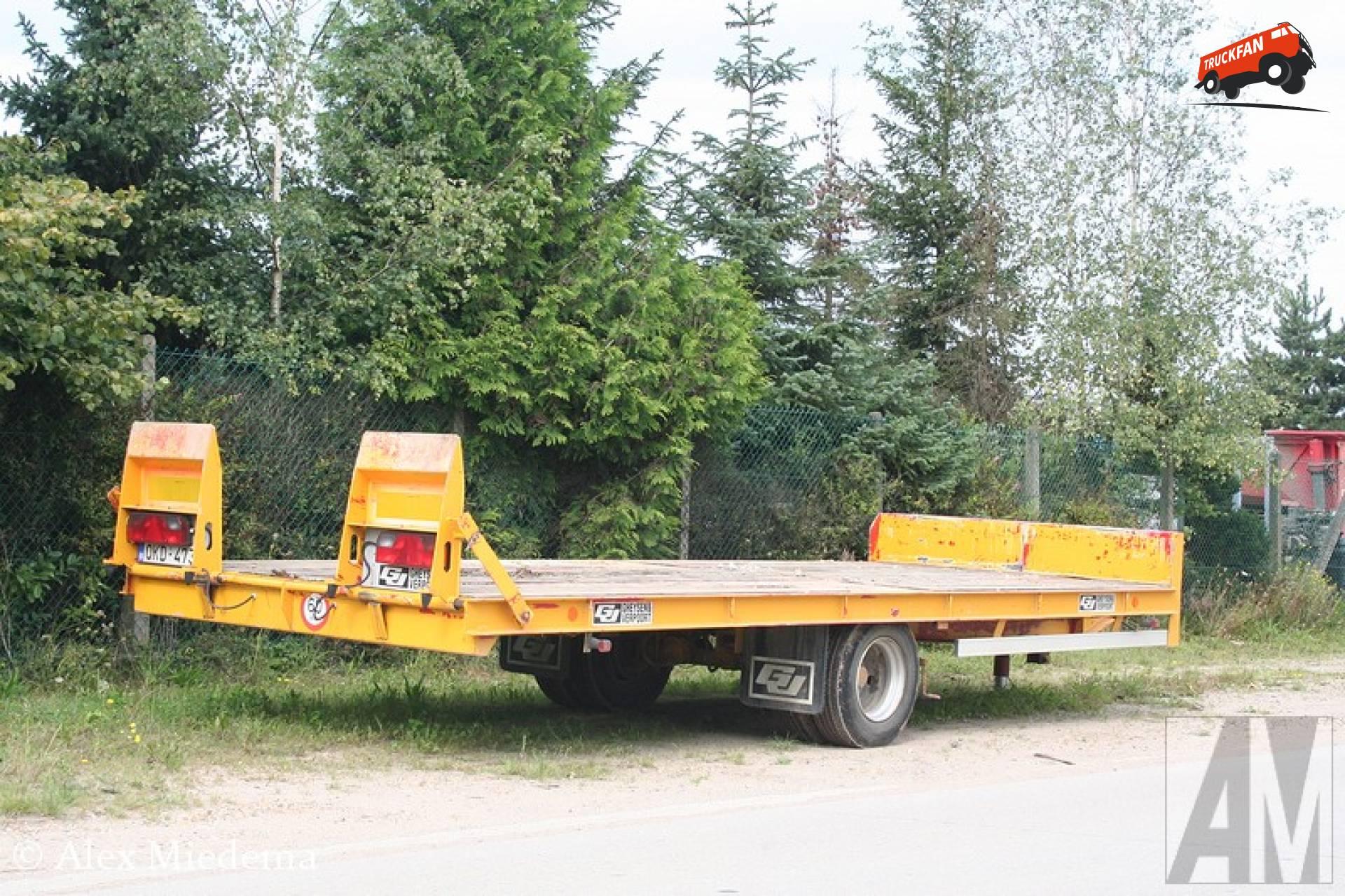 Gheysen & Verpoort aanhangwagen