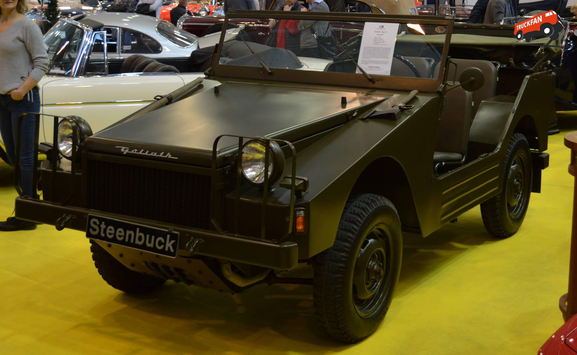 Goliath Jagdwagen Typ 34