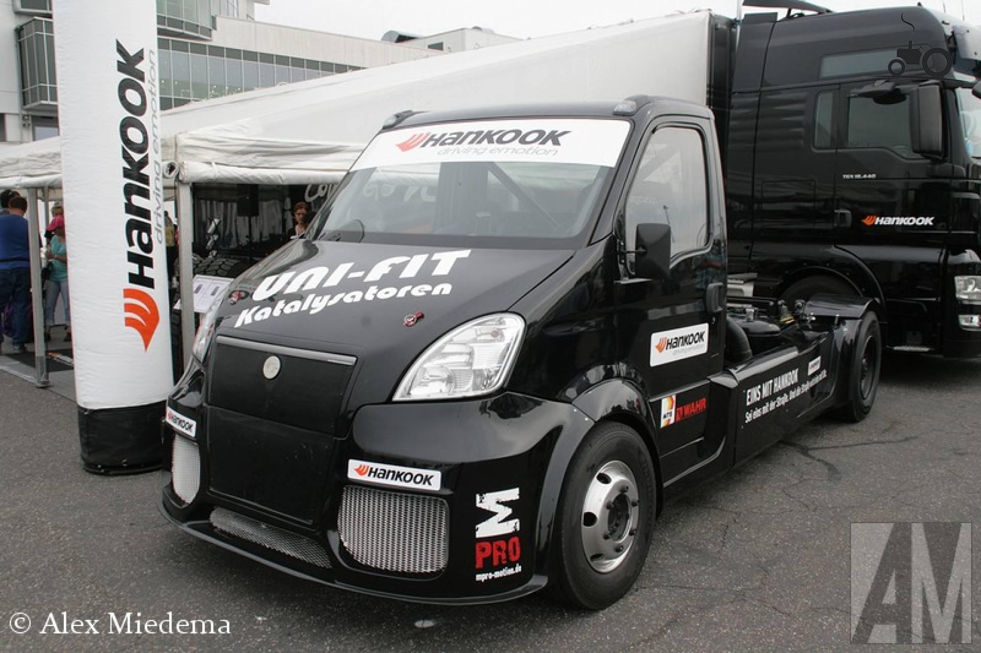 Hahn eigenbouw racetruck