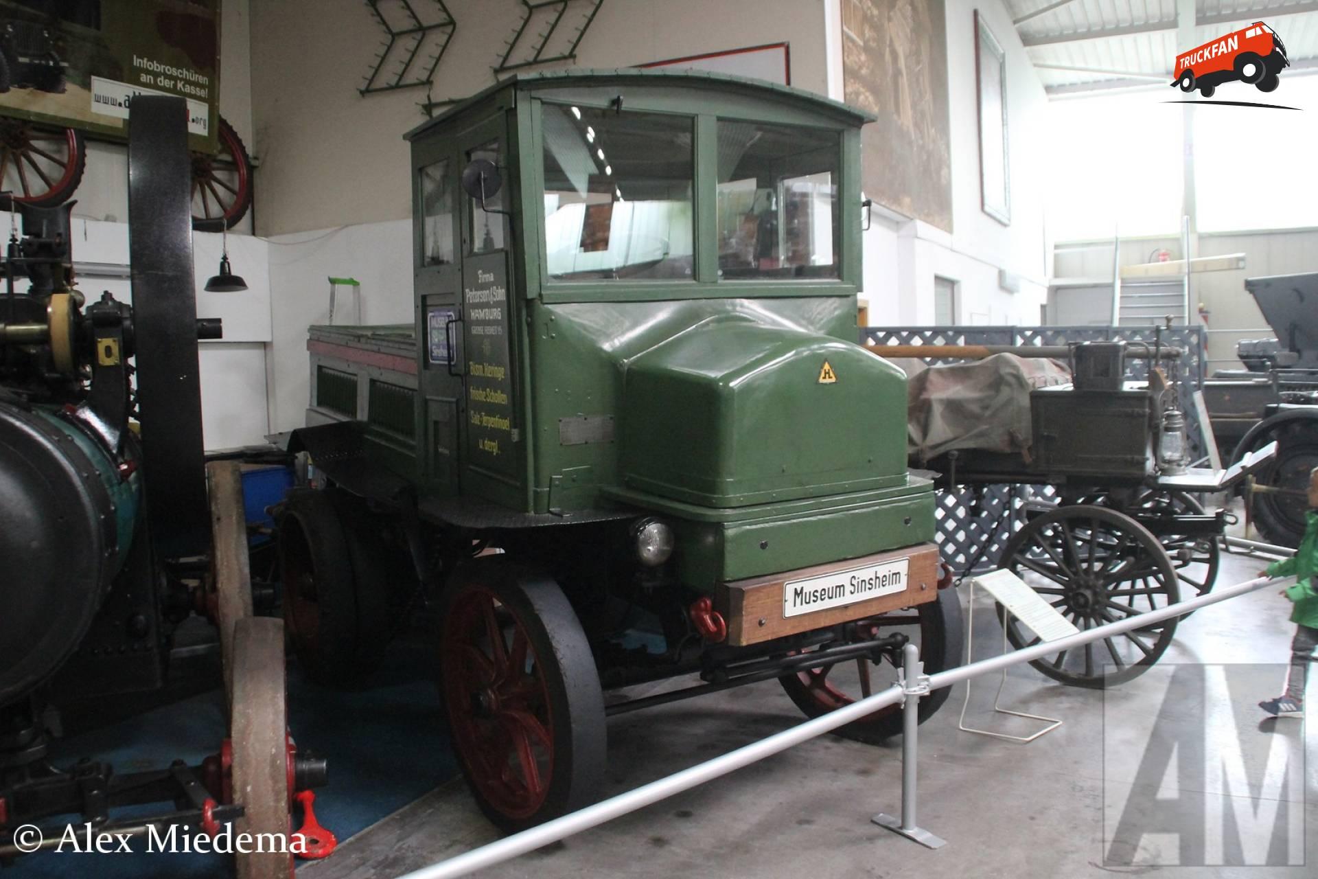 Hansa Elektro-Lastwagen