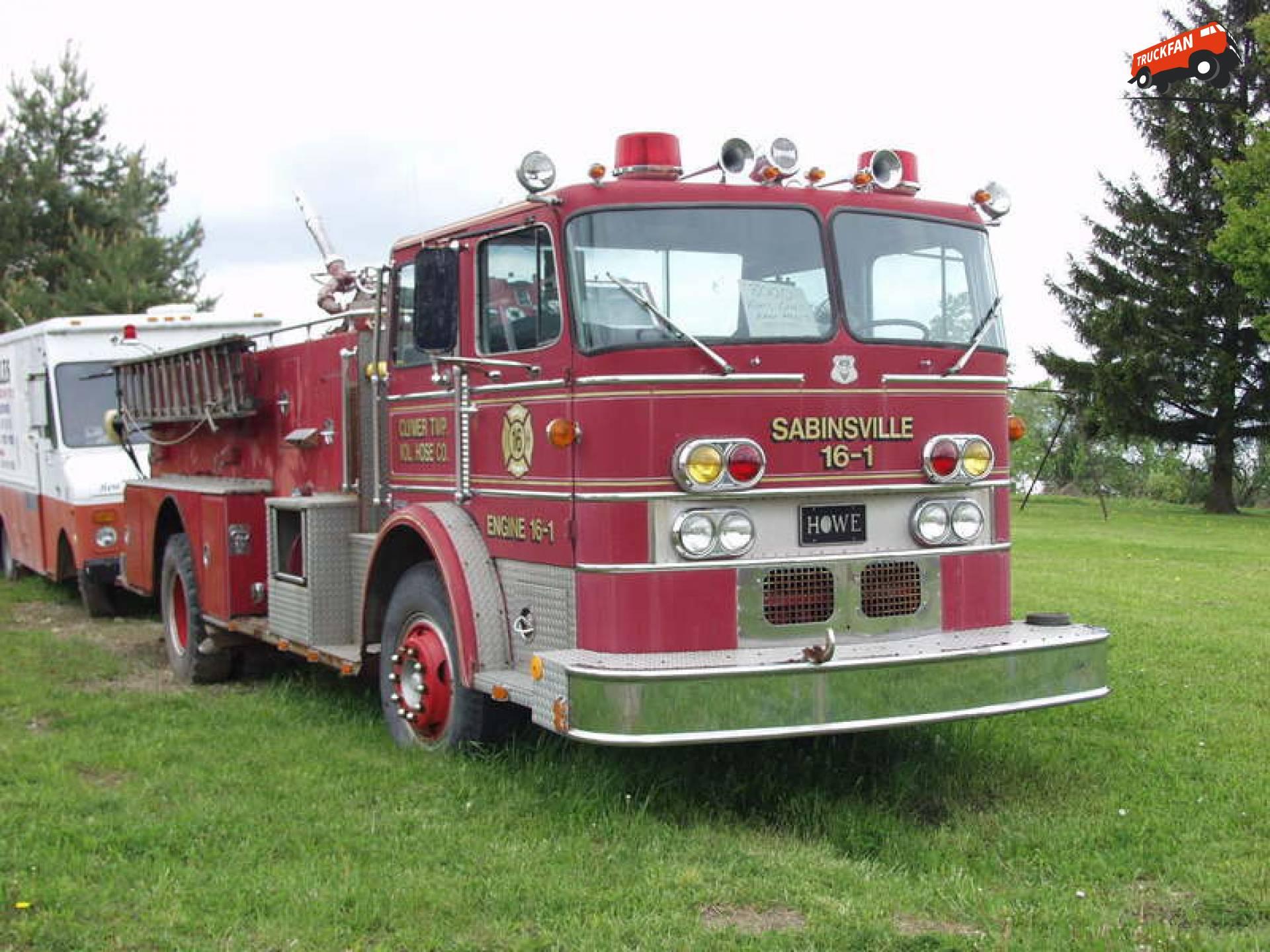 Howe brandweerwagen