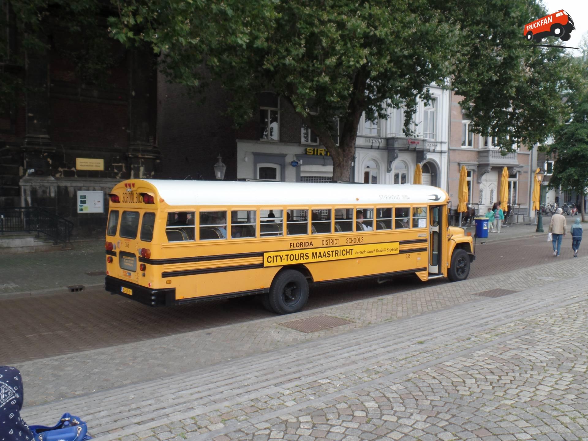 School Bus Fan : Foto international schoolbus