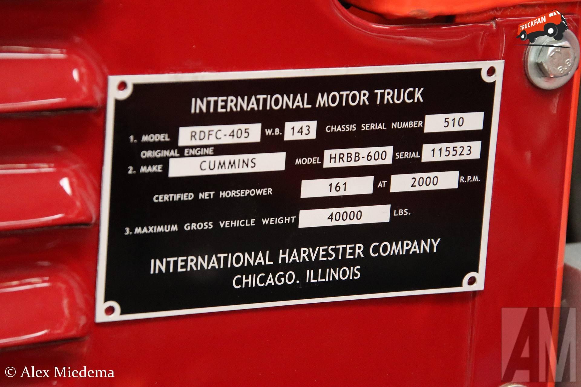 International RDFC-405