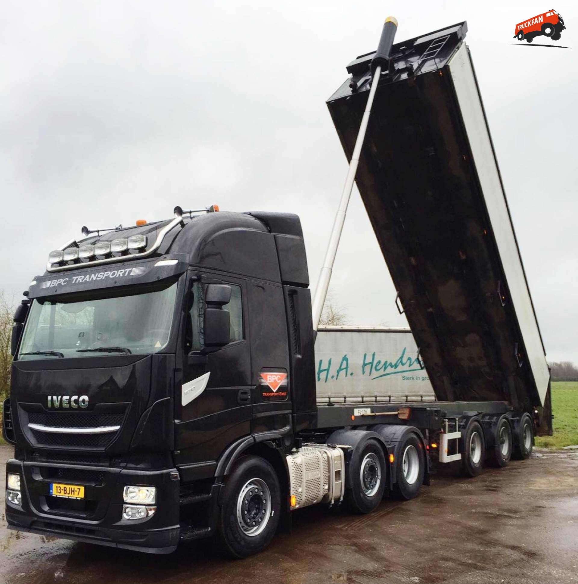 Black Power 570 pk sterke Iveco Stralis voor BPC  Alex