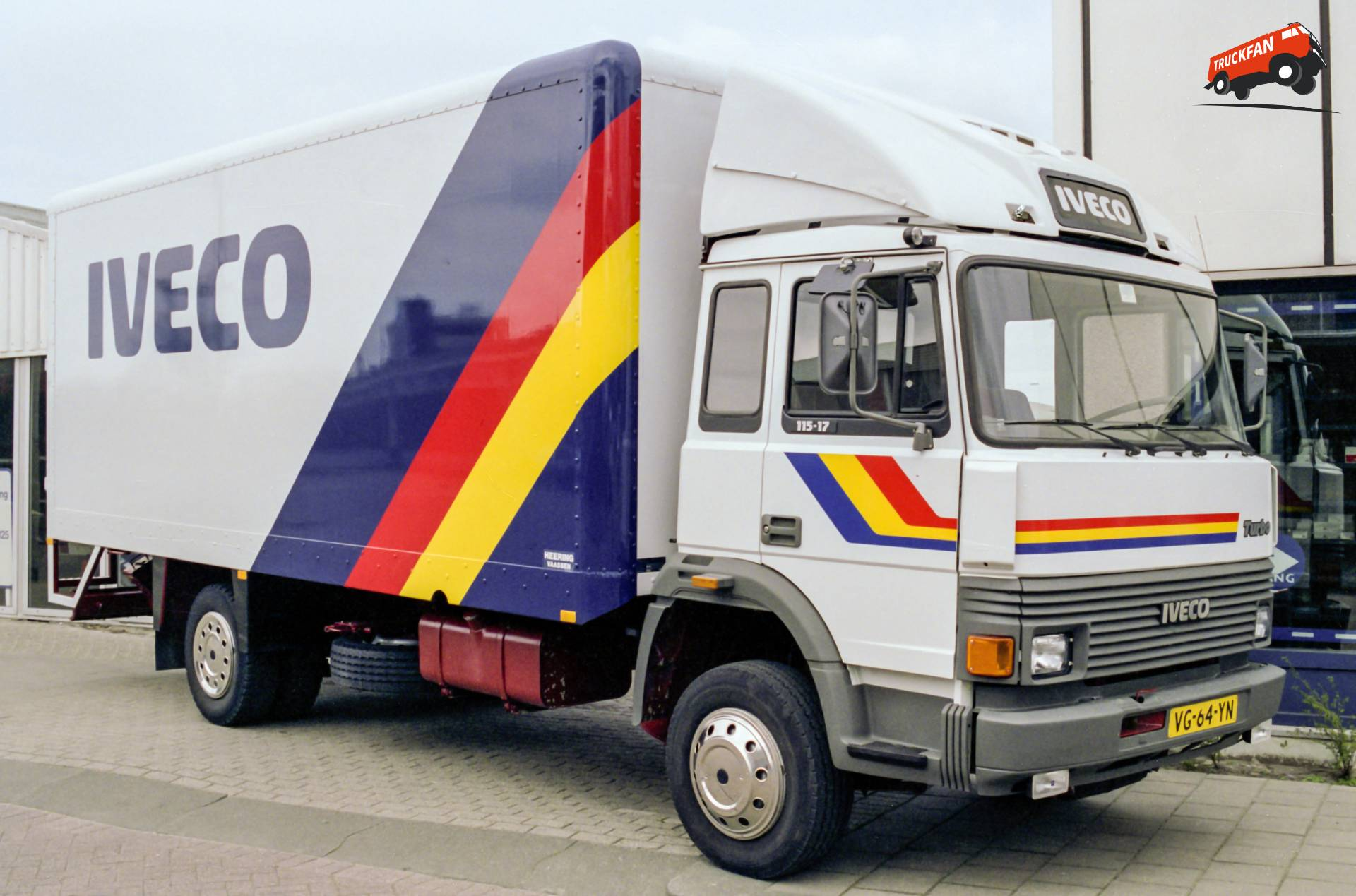 Iveco Turbo frontstuur