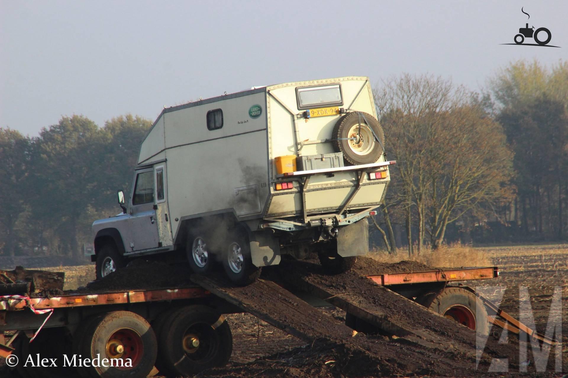 JRA Land Rover 110 Heavy Duty 6x6