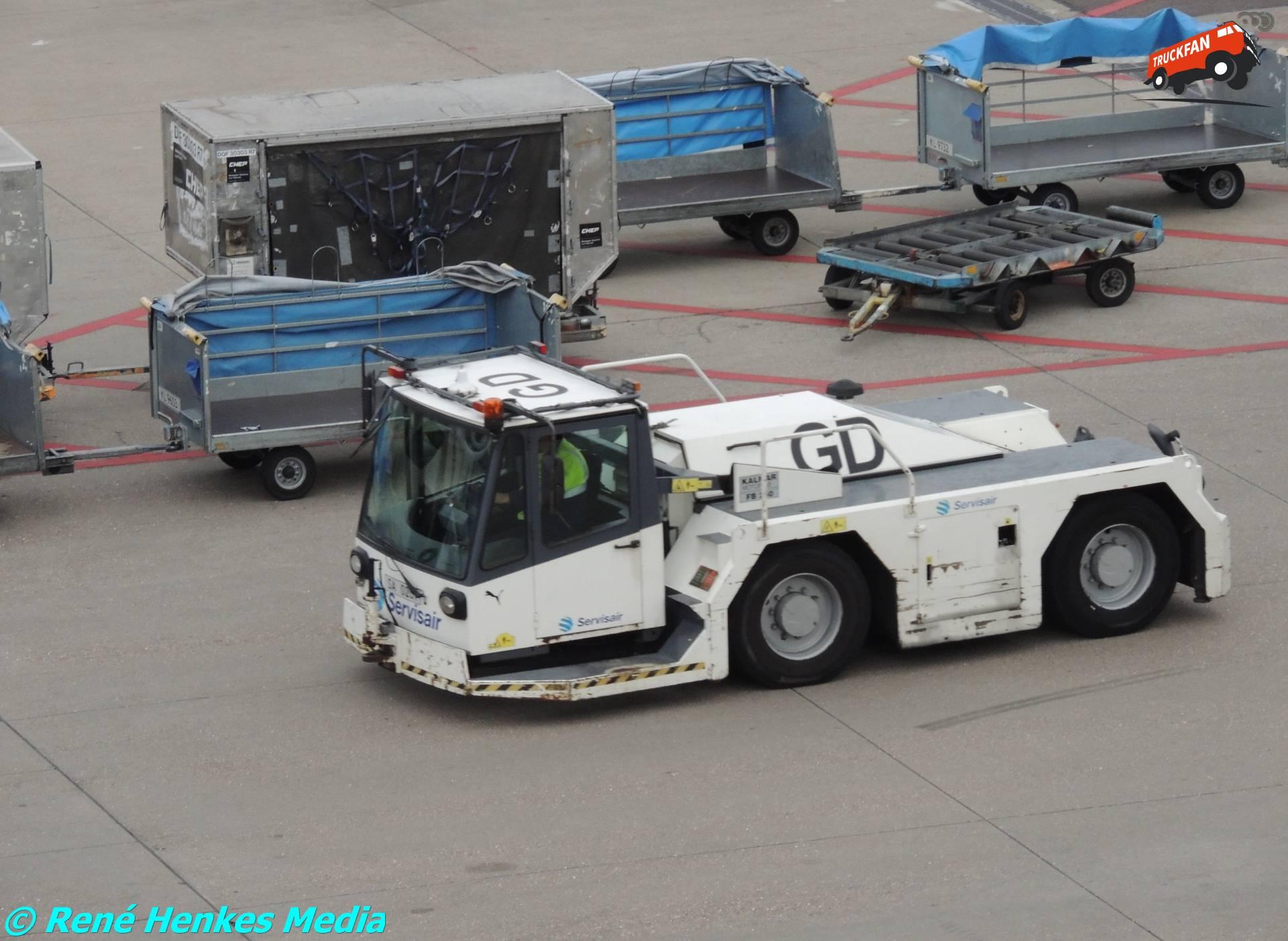 Kalmar vliegtuigtrekker