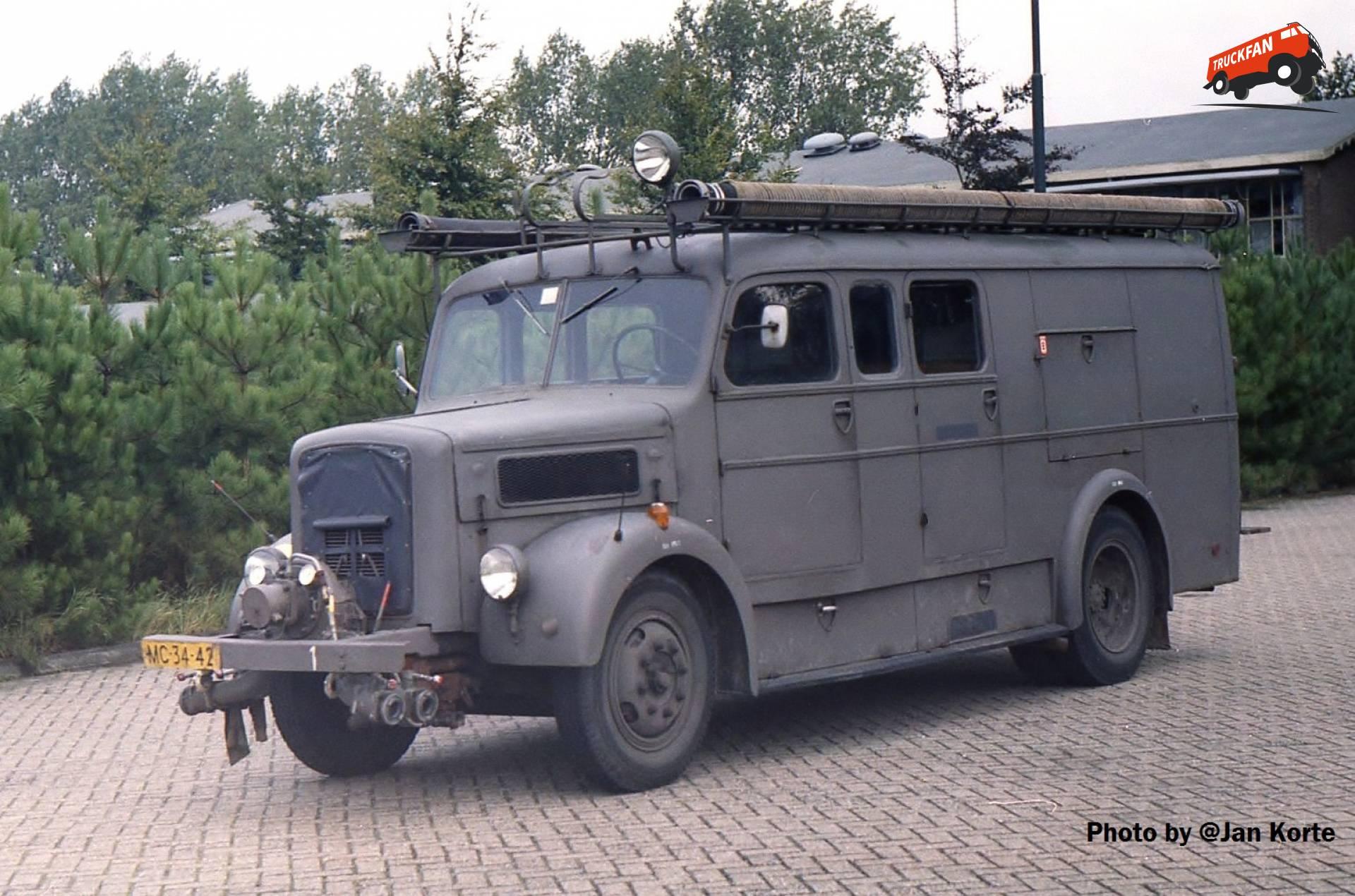 Magirus Deutz S3500