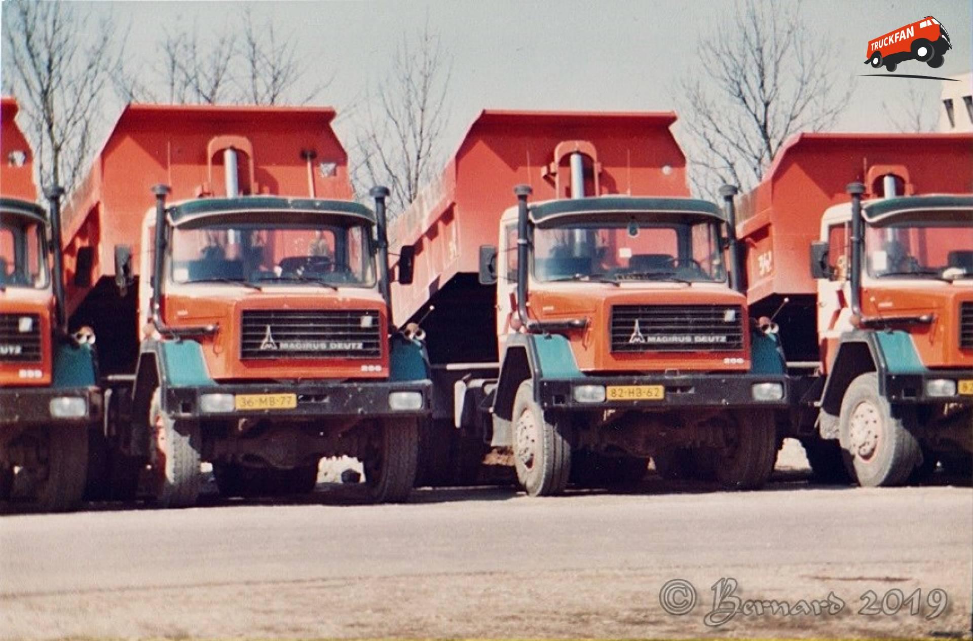 Magirus-Deutz Vrachtwagen