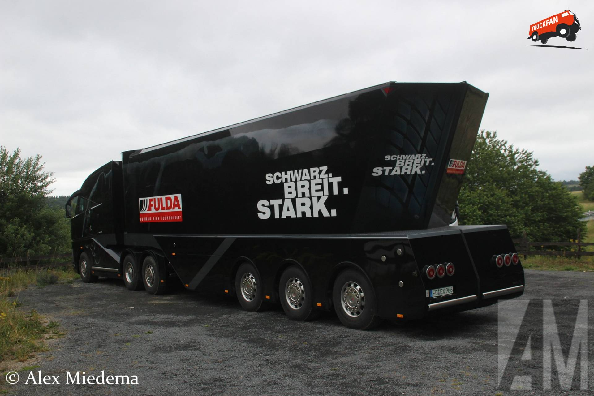 MAN Fulda truck