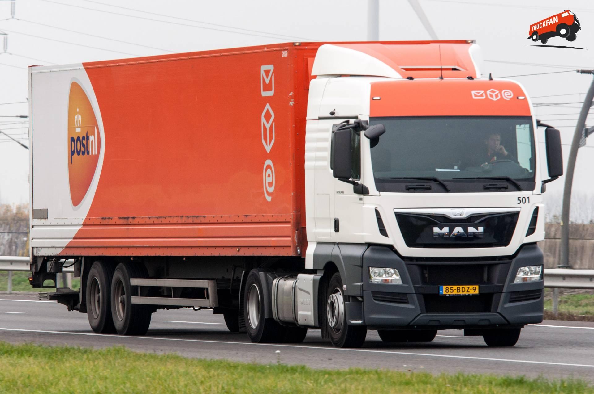 De truckfan toppers van week 49 - Alex Miedema Aandeel Postnl