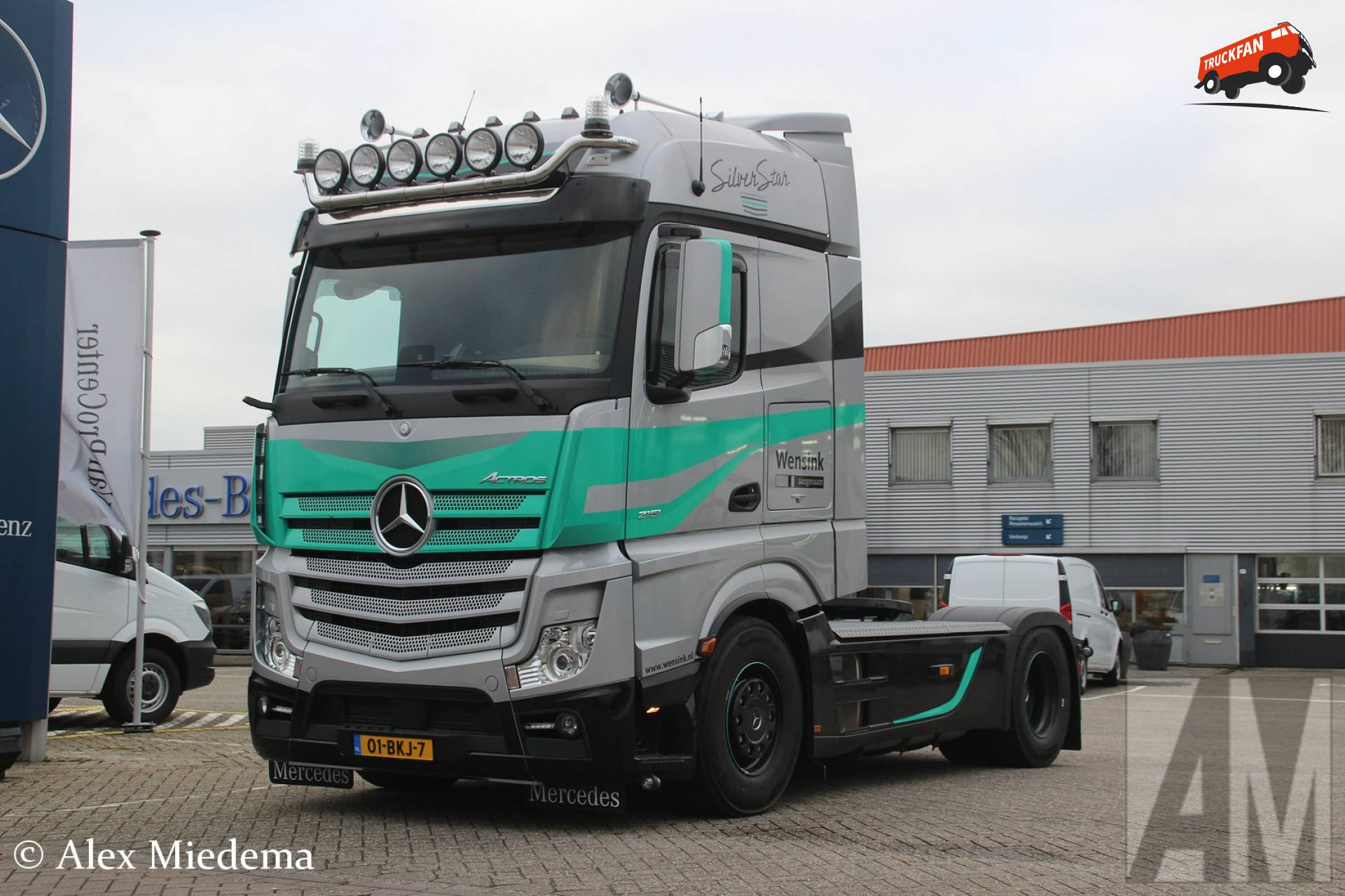 foto mercedes benz actros mp4 van wensink. Black Bedroom Furniture Sets. Home Design Ideas