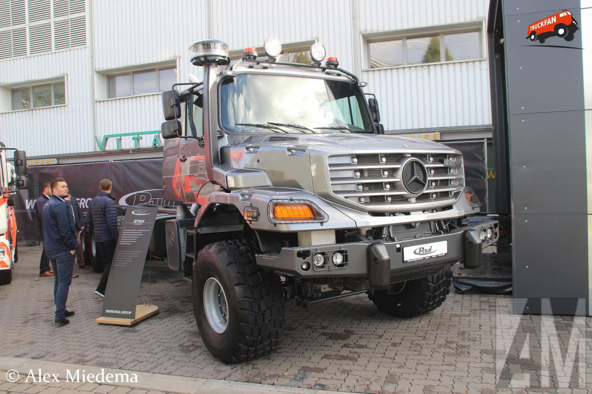 Foto Mercedes Benz Zetros 1264004 Truckfan