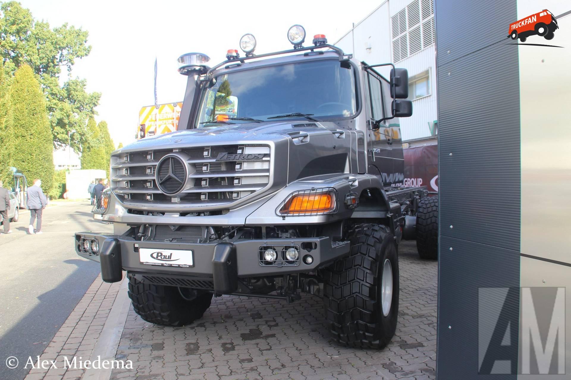 Foto Mercedes Benz Zetros 1264007 Truckfan
