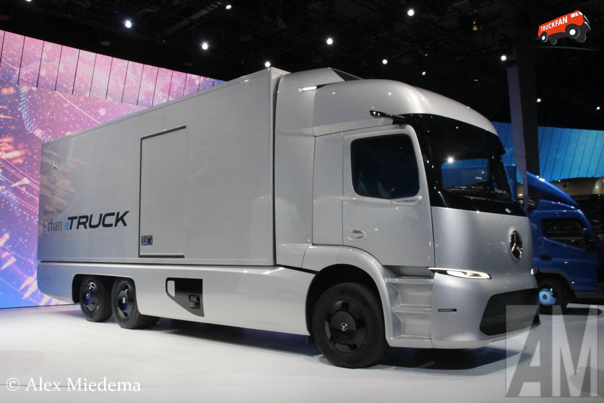 Mercedes benz urban etruck at the iaa alex miedema for Mercedes benz electric truck