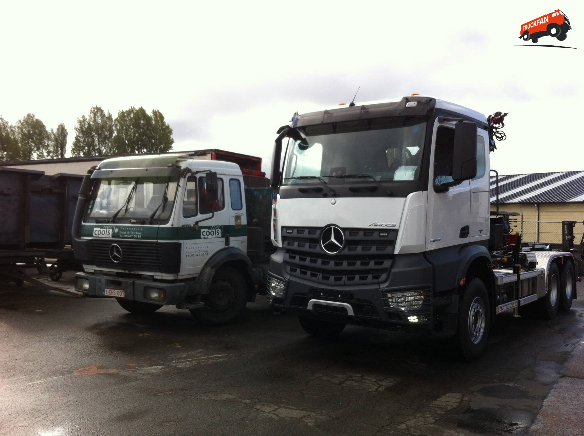 Pictures of Mercedes Truck Bristol