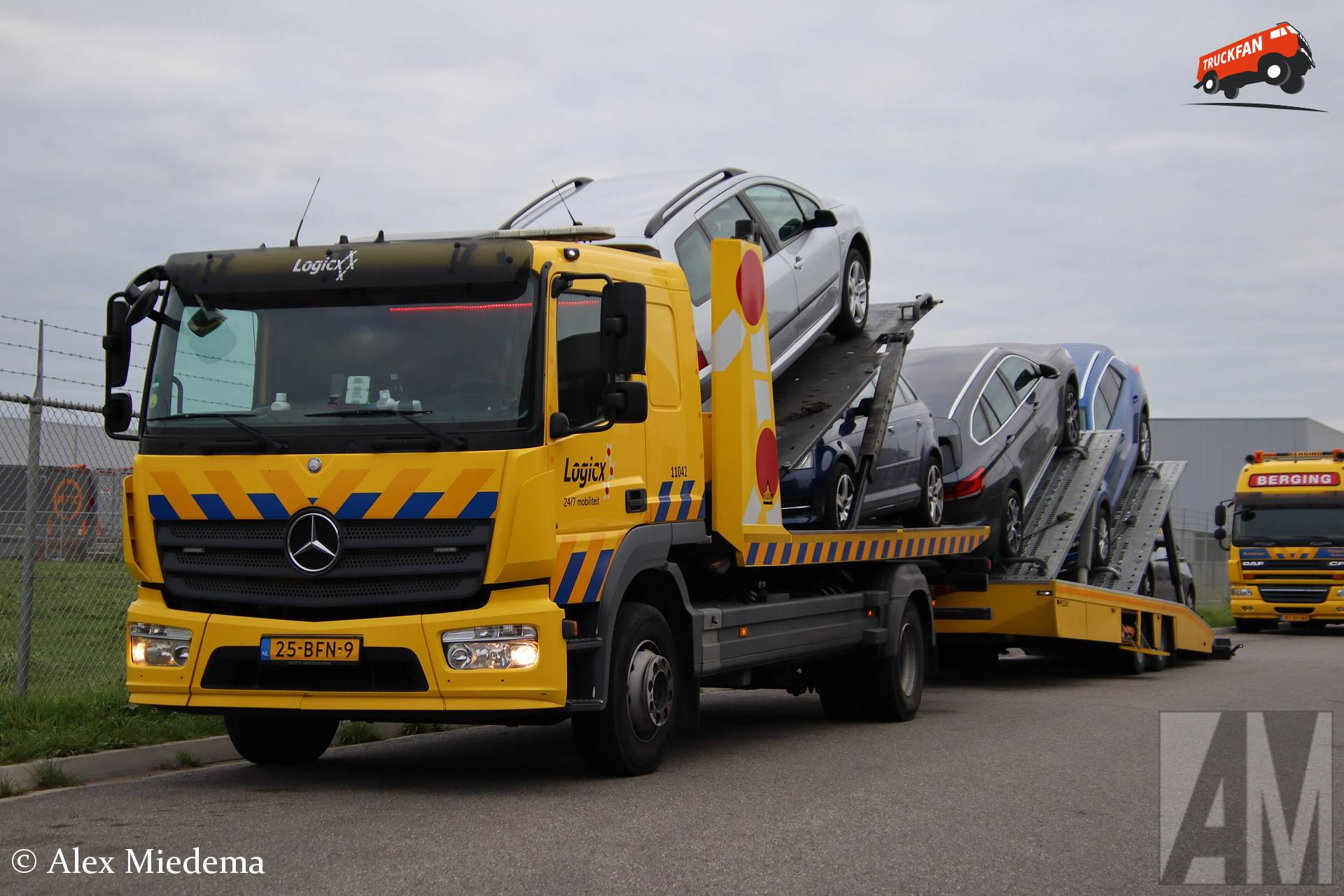 Mercedes-Benz Atego MP4