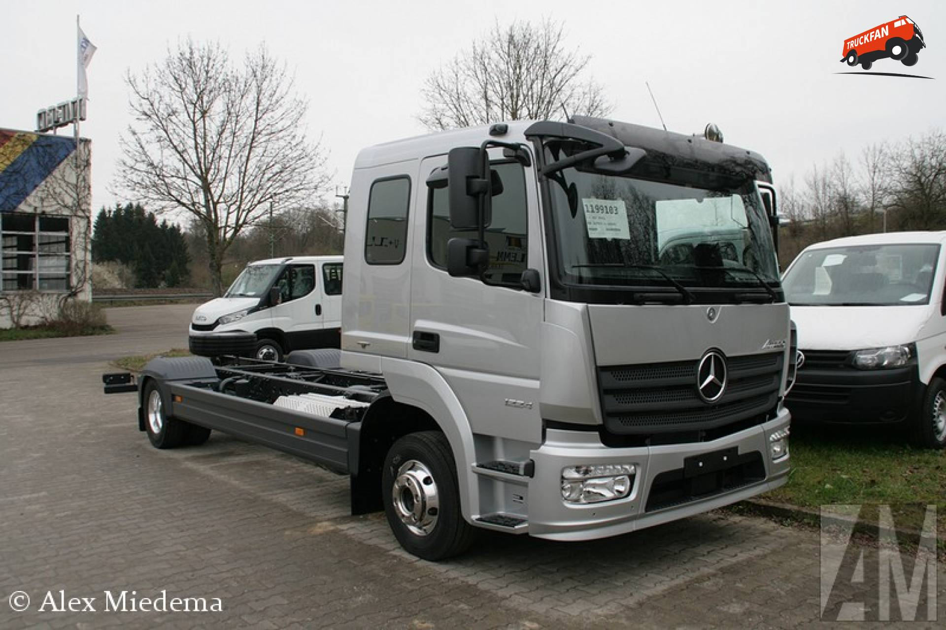 Mercedes-Benz Atego MP4