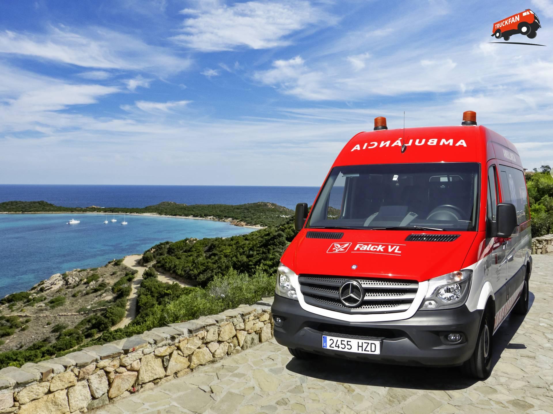 344 mercedes benz sprinter ambulances for spain alex miedema for Mercedes benz espana