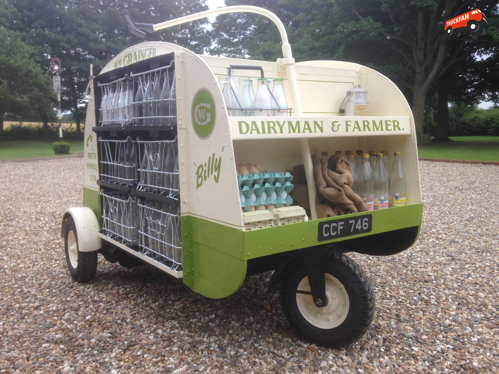 Nipper Truck Milk Float
