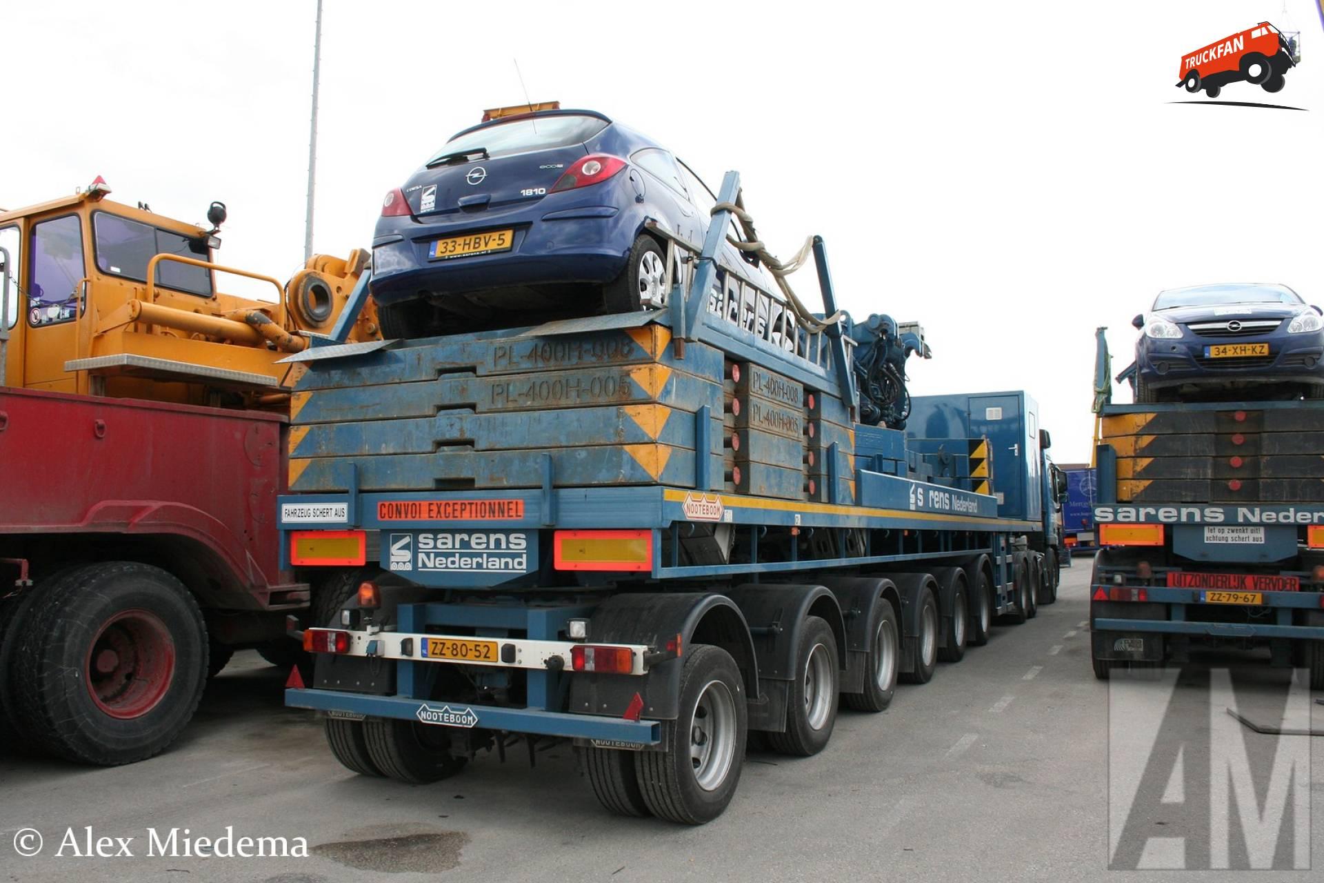 Nooteboom ballasttrailer
