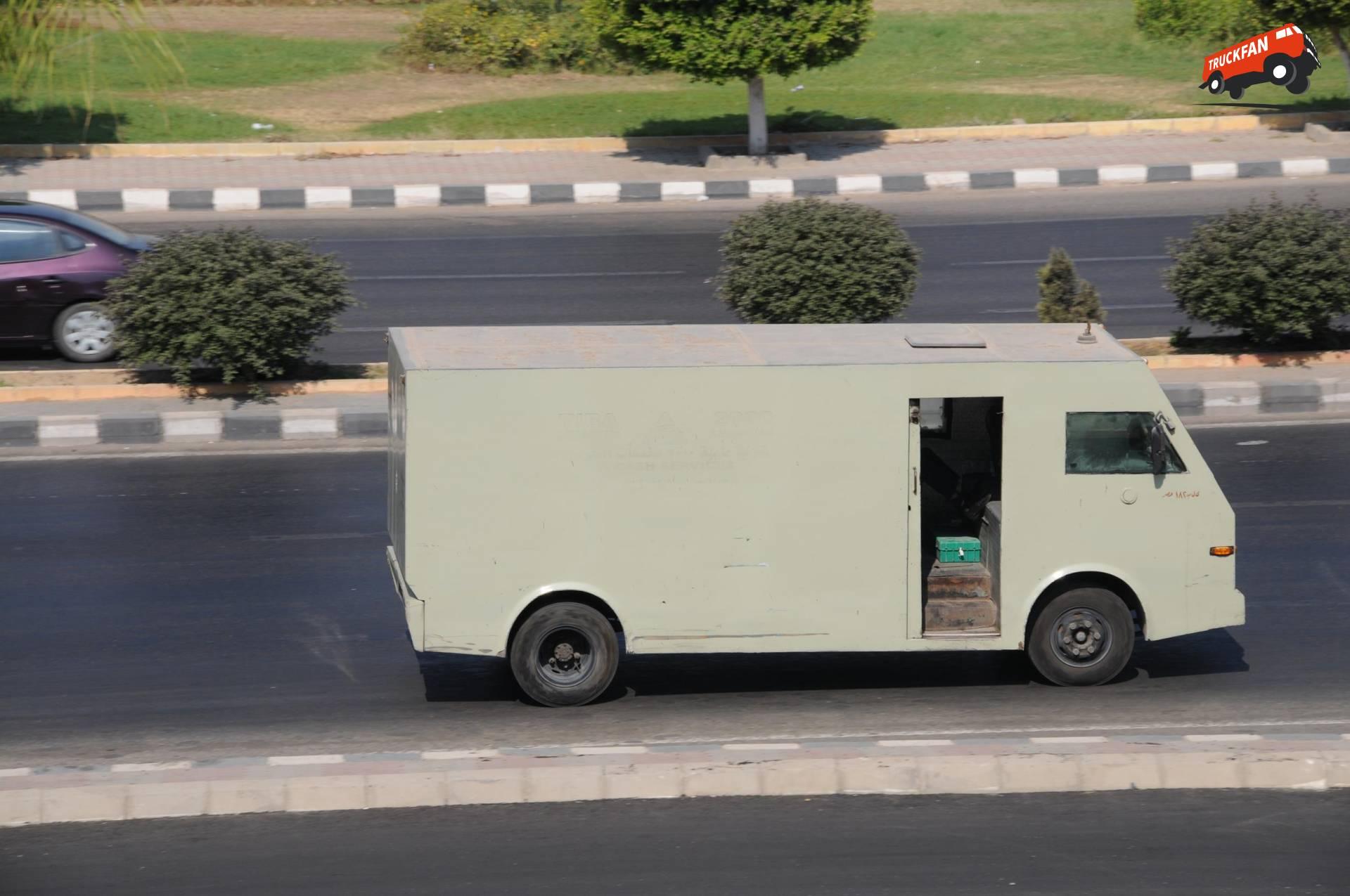 Onbekend bestelwagen