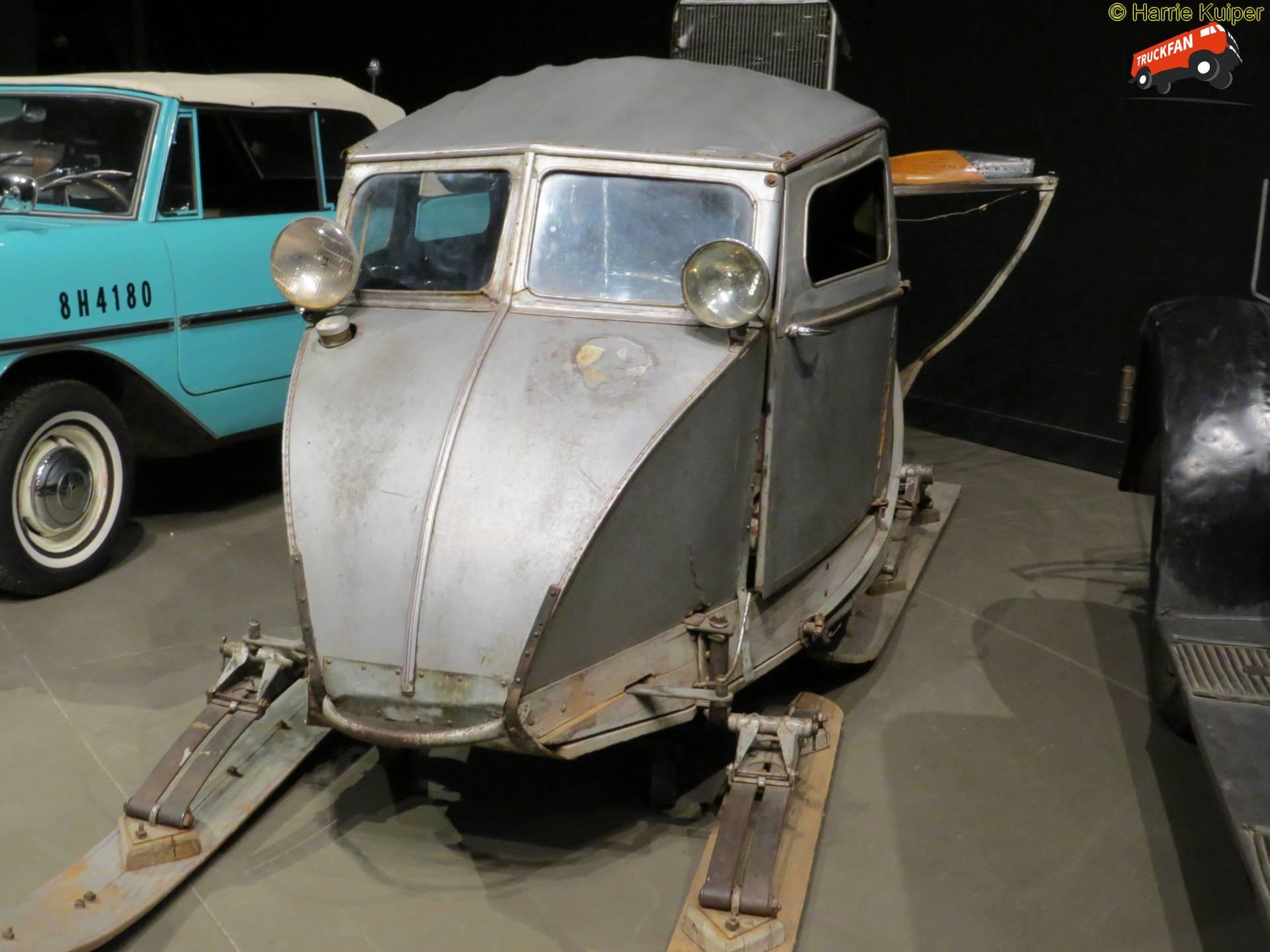 Fudge Snow Sedan