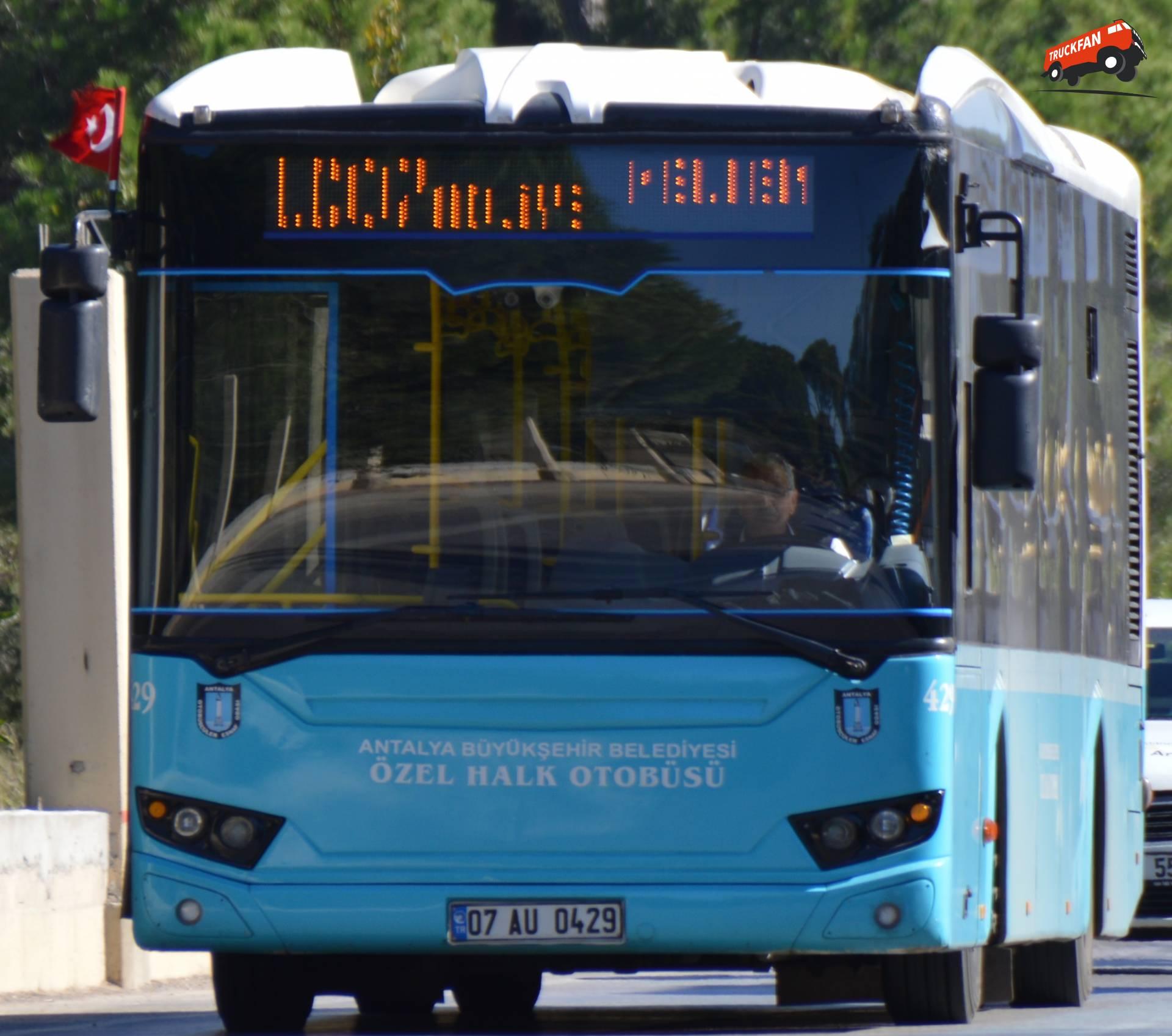 Tezeller bus