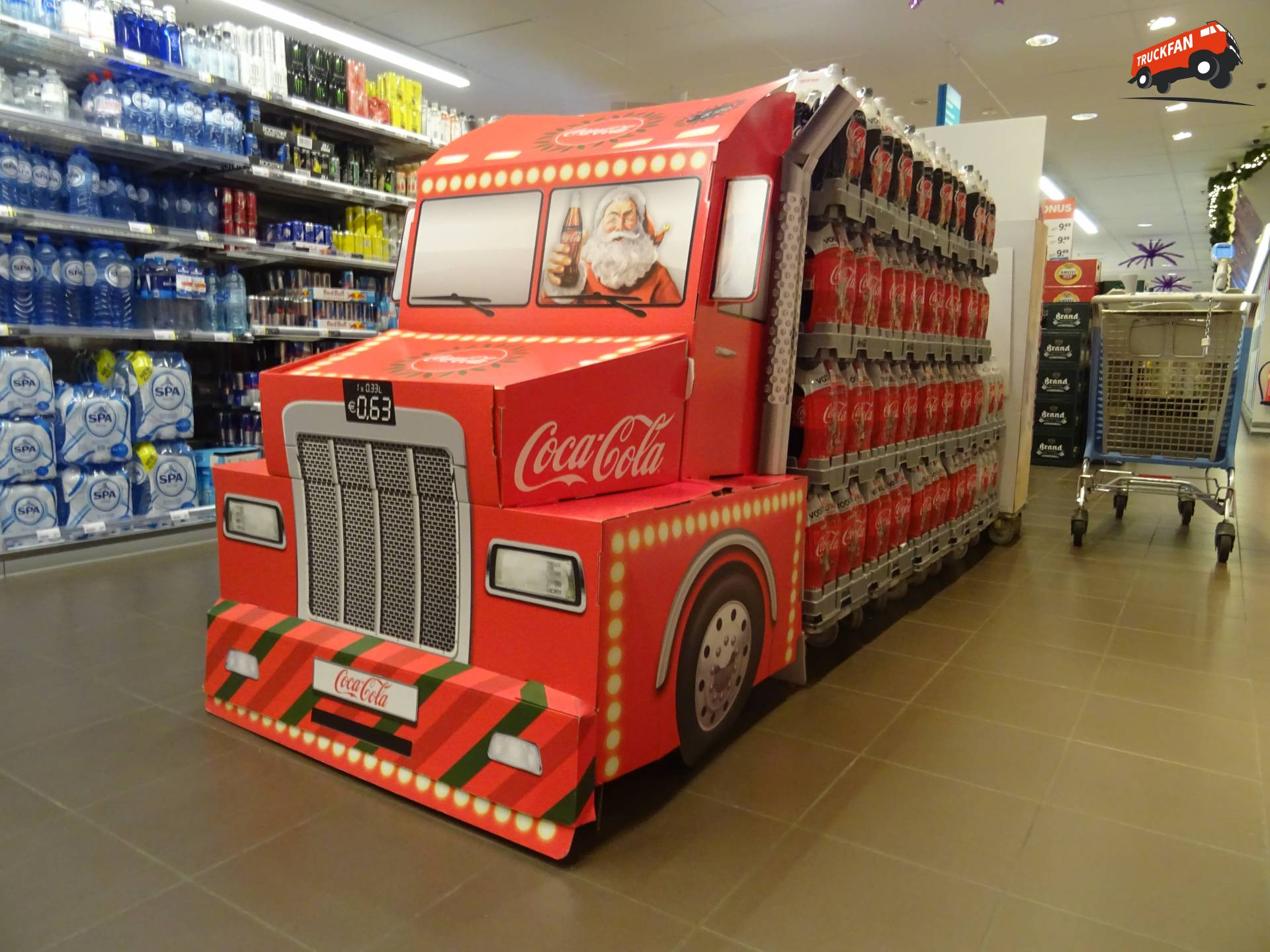 Onbekend verkoopwagen