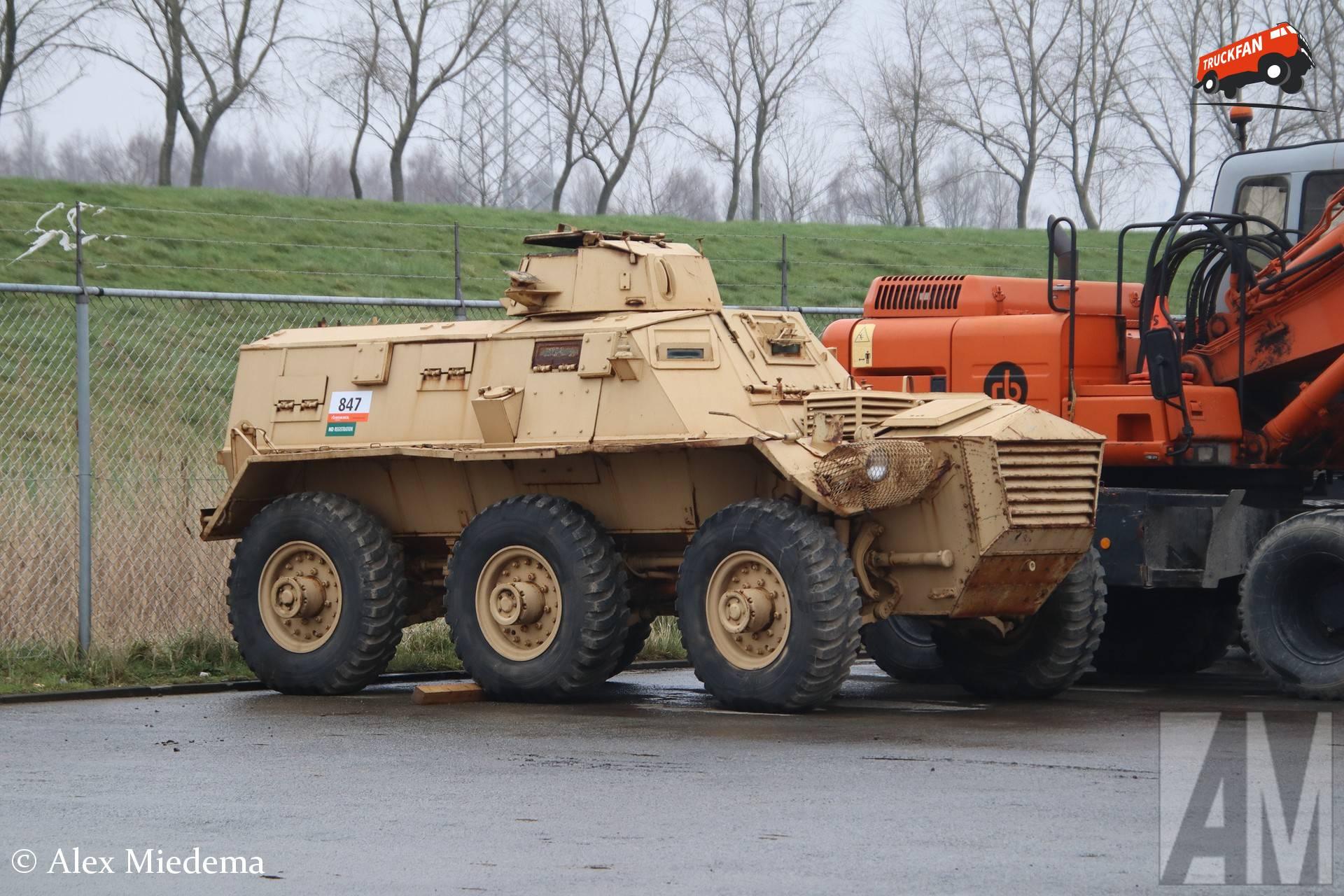 Onbekend pantserwagen