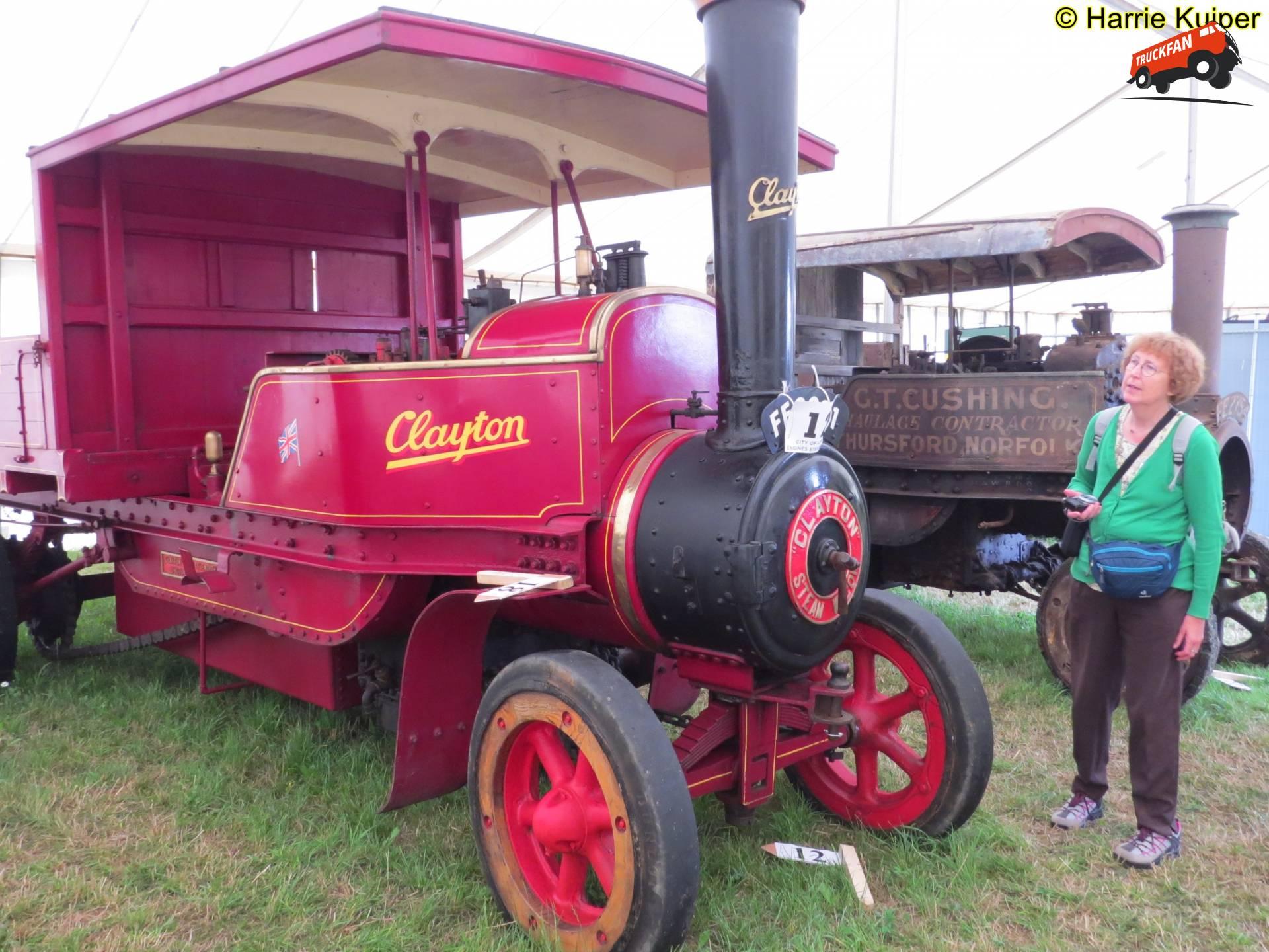 Clayton steamtruck