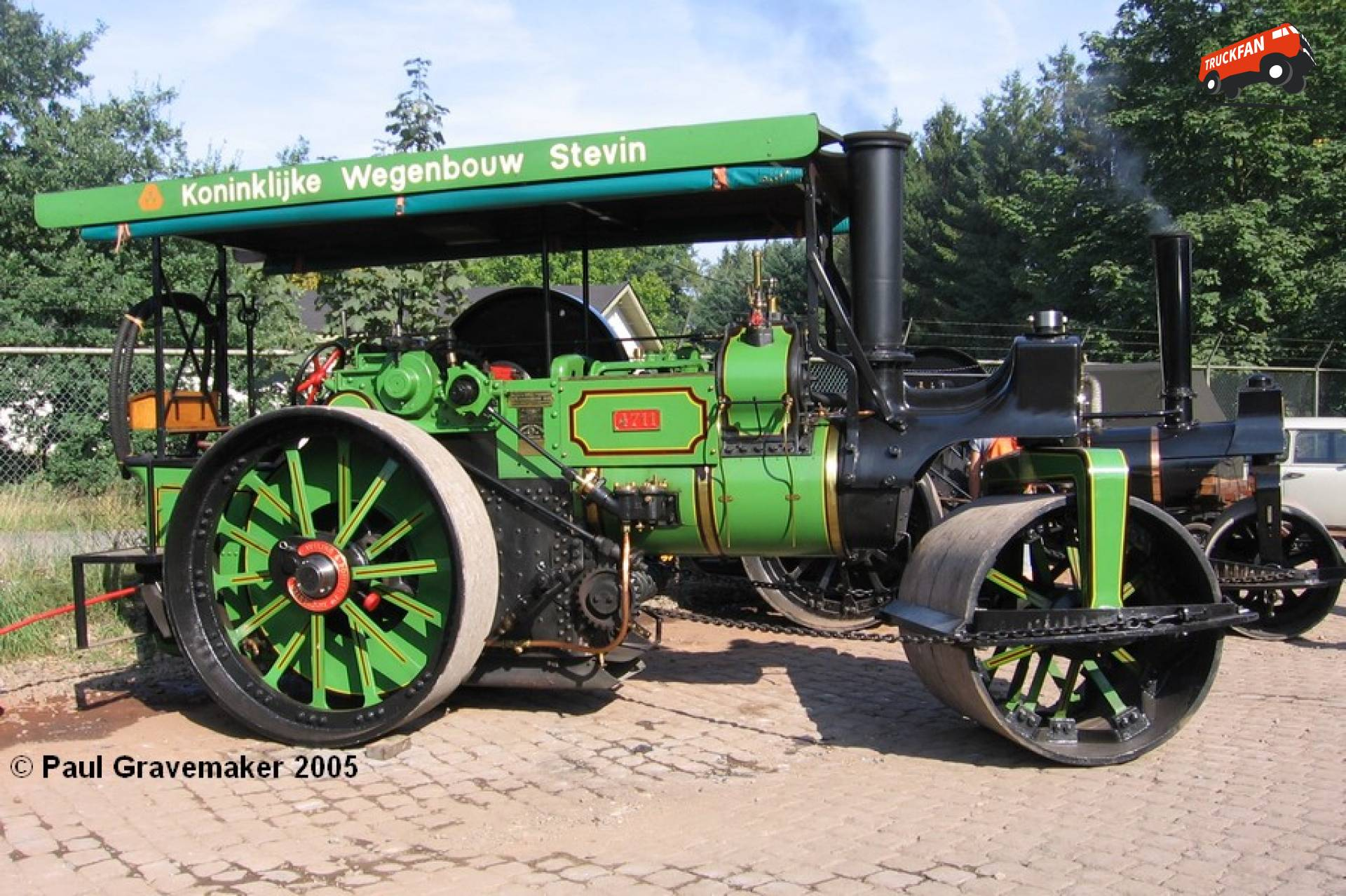 Aveling & Porter stoomwals